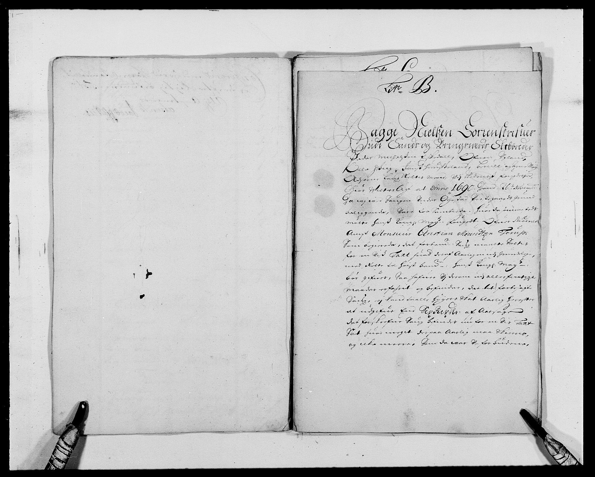 RA, Rentekammeret inntil 1814, Reviderte regnskaper, Fogderegnskap, R39/L2310: Fogderegnskap Nedenes, 1690-1692, s. 112