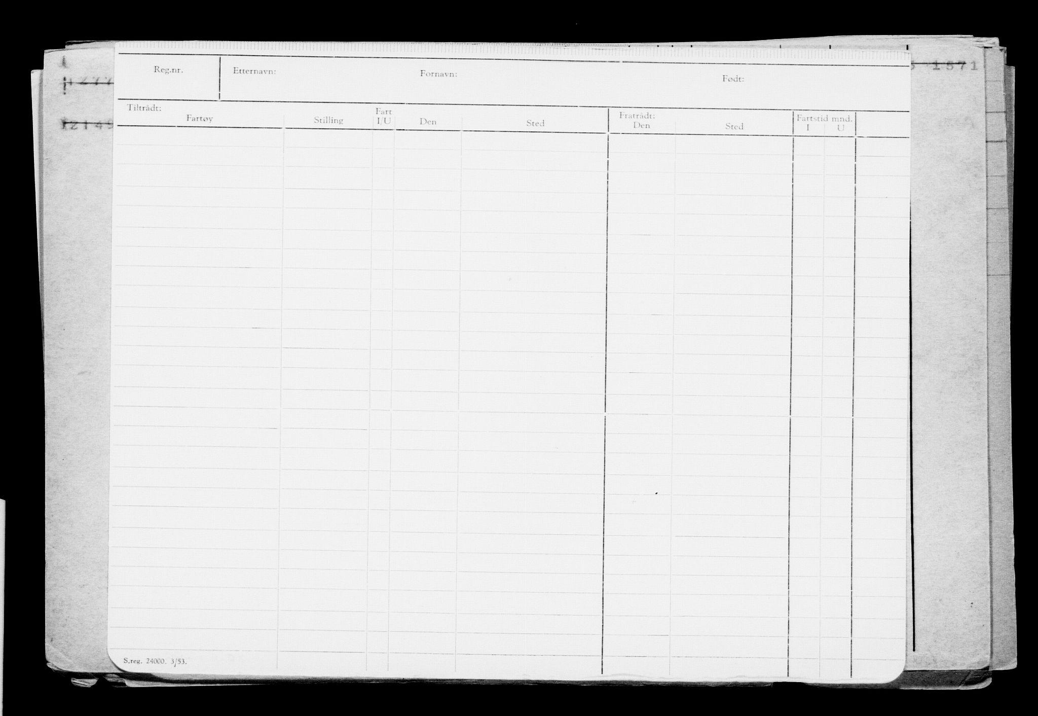 RA, Direktoratet for sjømenn, G/Gb/L0005: Hovedkort, 1888, s. 372