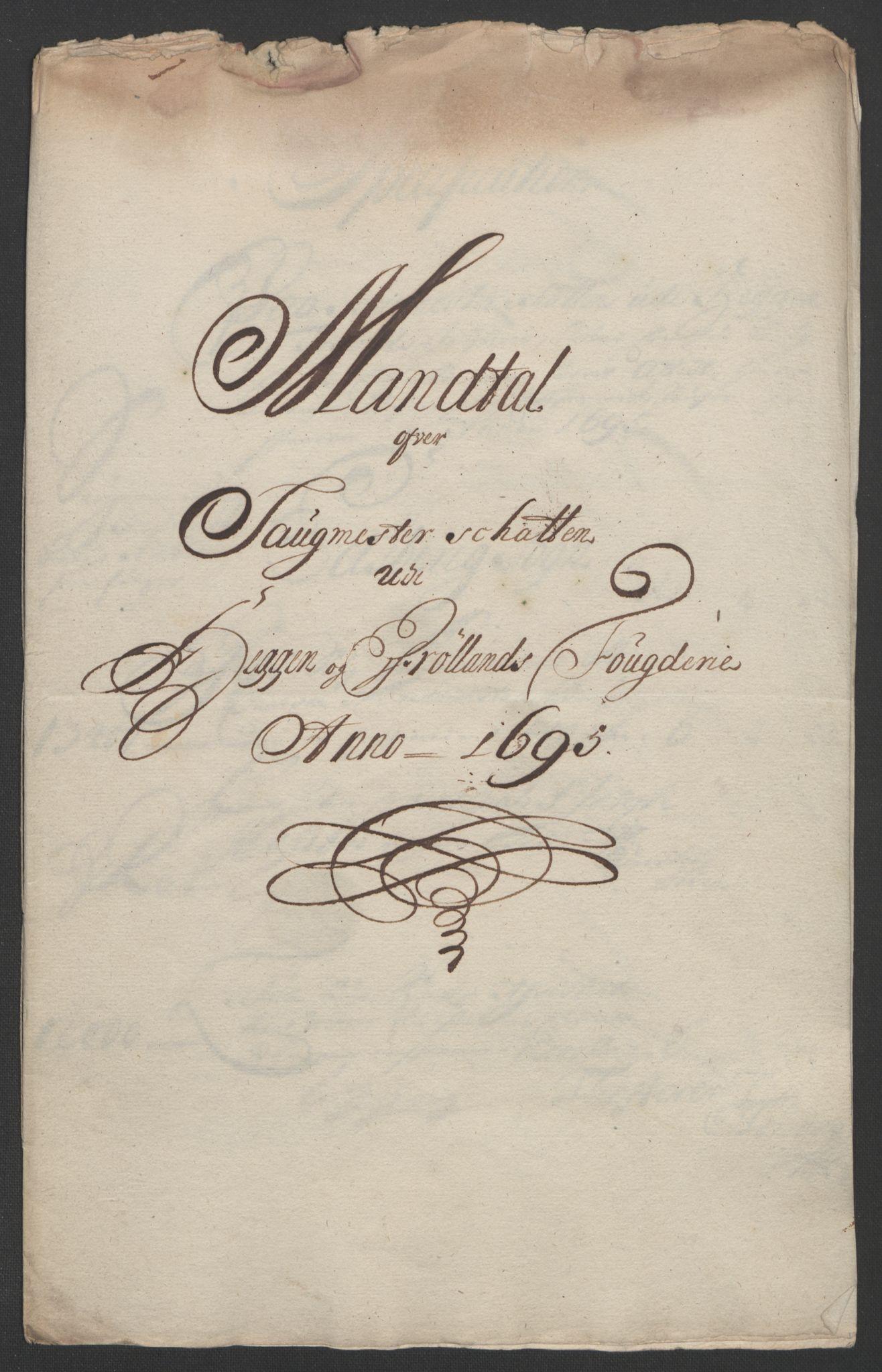 RA, Rentekammeret inntil 1814, Reviderte regnskaper, Fogderegnskap, R07/L0285: Fogderegnskap Rakkestad, Heggen og Frøland, 1695, s. 222