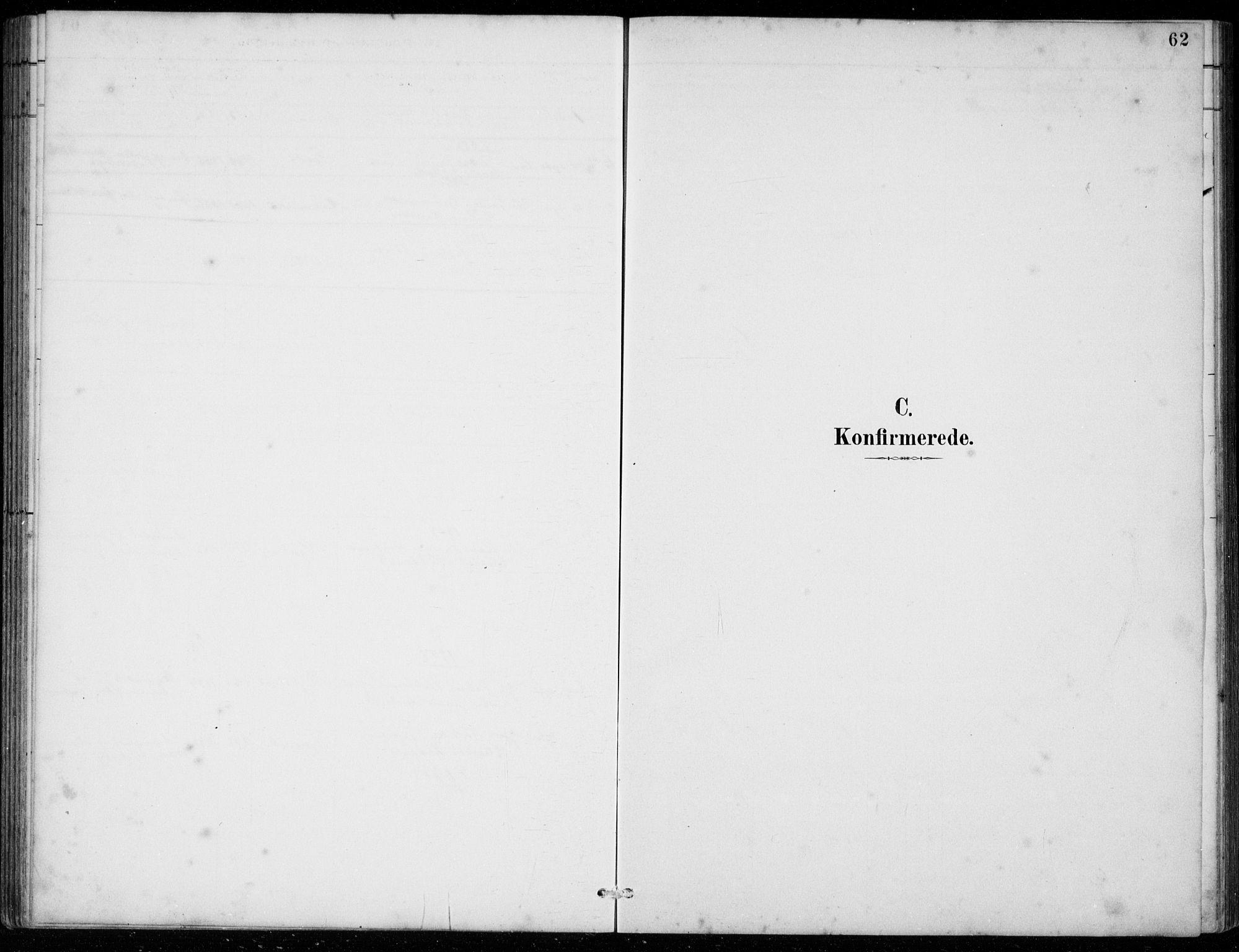 SAB, Strandebarm Sokneprestembete, H/Hab: Klokkerbok nr. C  1, 1891-1913, s. 62