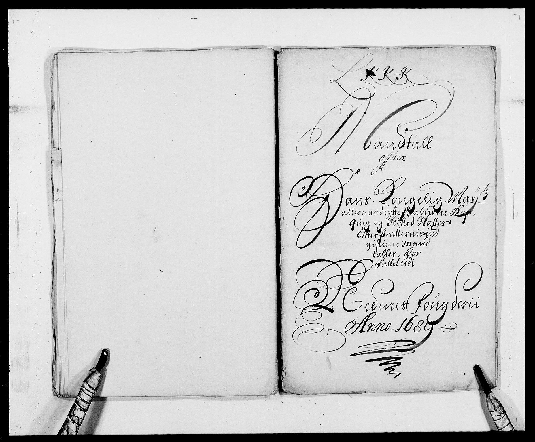 RA, Rentekammeret inntil 1814, Reviderte regnskaper, Fogderegnskap, R39/L2309: Fogderegnskap Nedenes, 1684-1689, s. 364