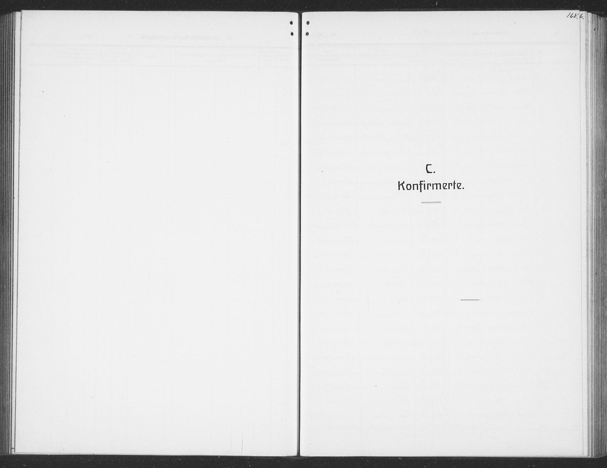 SAT, Ministerialprotokoller, klokkerbøker og fødselsregistre - Sør-Trøndelag, 691/L1095: Klokkerbok nr. 691C06, 1912-1933, s. 165
