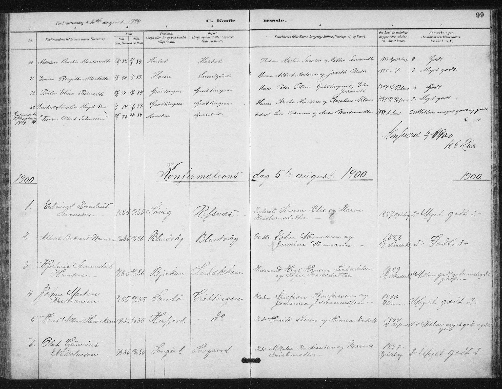 SAT, Ministerialprotokoller, klokkerbøker og fødselsregistre - Sør-Trøndelag, 656/L0698: Klokkerbok nr. 656C04, 1890-1904, s. 99