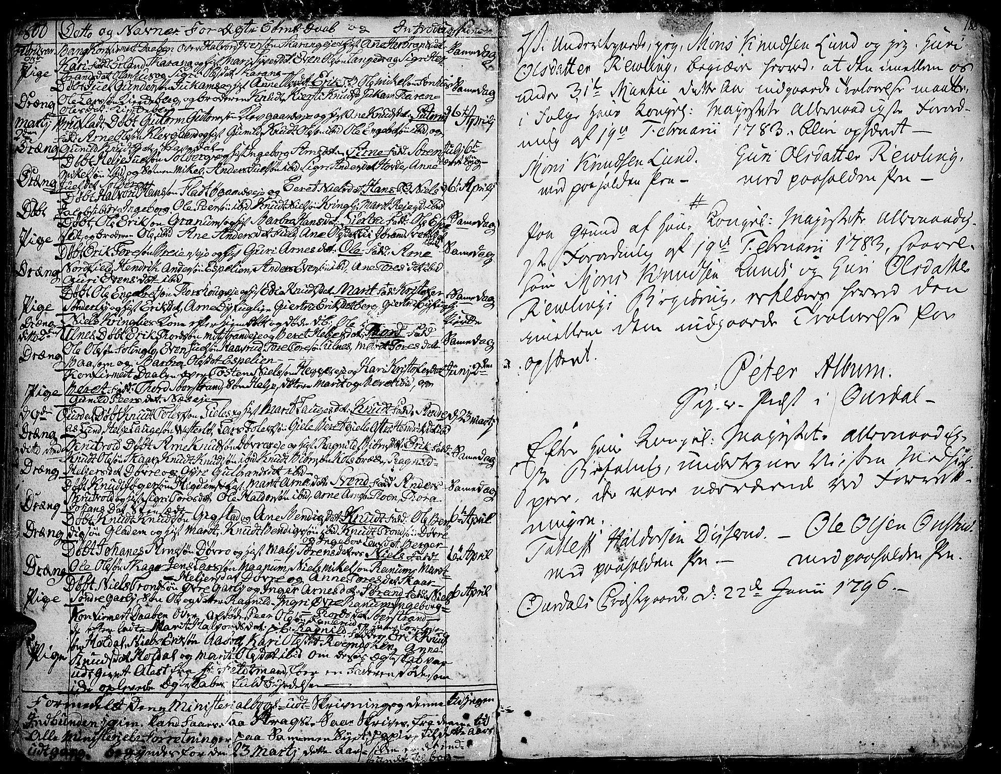 SAH, Aurdal prestekontor, Ministerialbok nr. 6, 1781-1804, s. 188