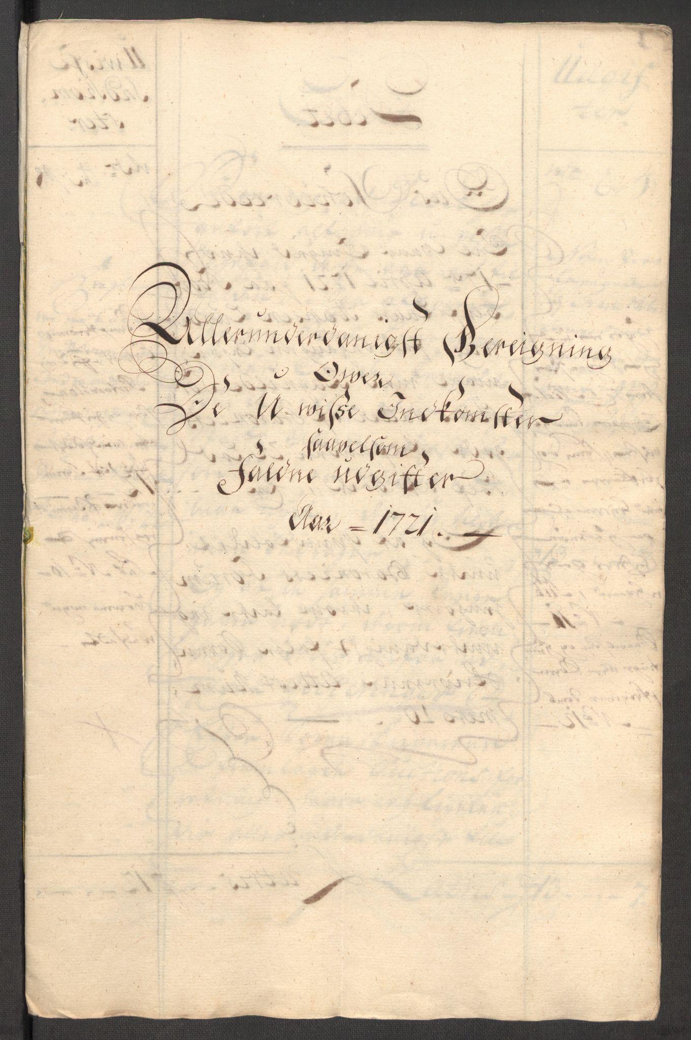 RA, Rentekammeret inntil 1814, Reviderte regnskaper, Fogderegnskap, R48/L3000: Fogderegnskap Sunnhordland og Hardanger, 1721, s. 109