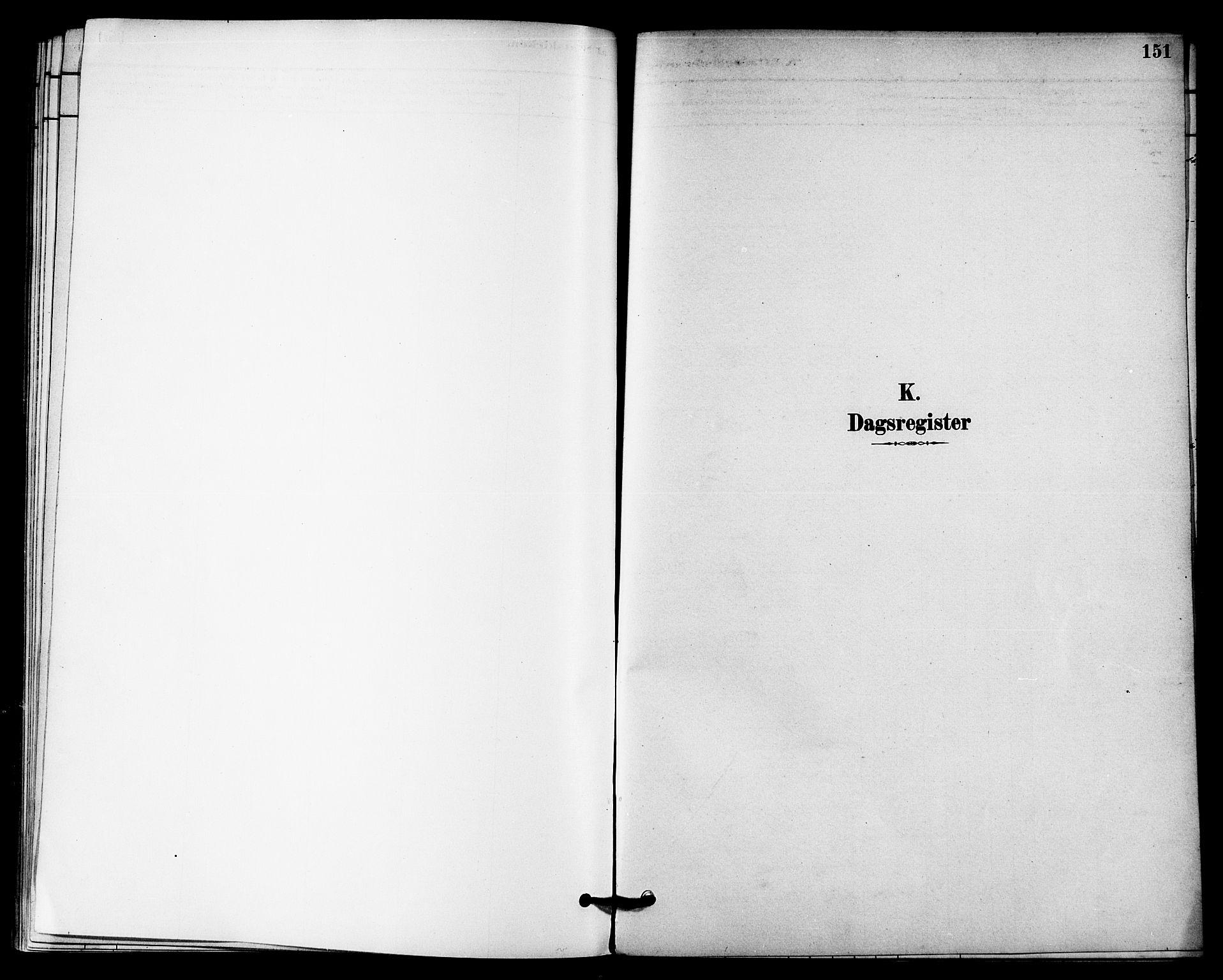 SAT, Ministerialprotokoller, klokkerbøker og fødselsregistre - Nord-Trøndelag, 740/L0378: Ministerialbok nr. 740A01, 1881-1895, s. 151