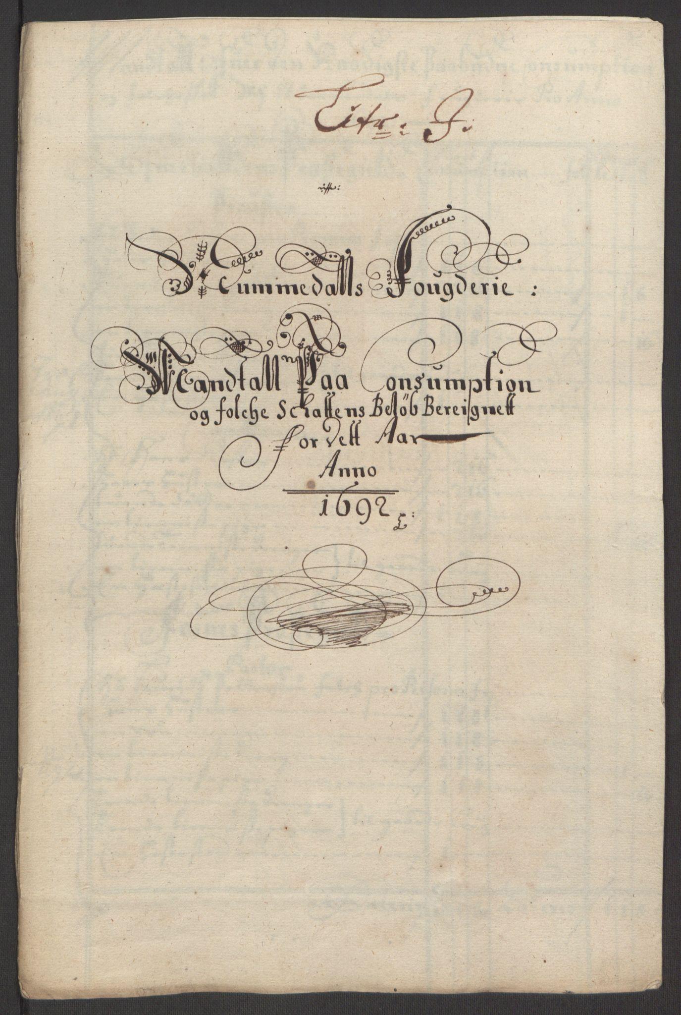 RA, Rentekammeret inntil 1814, Reviderte regnskaper, Fogderegnskap, R64/L4424: Fogderegnskap Namdal, 1692-1695, s. 52