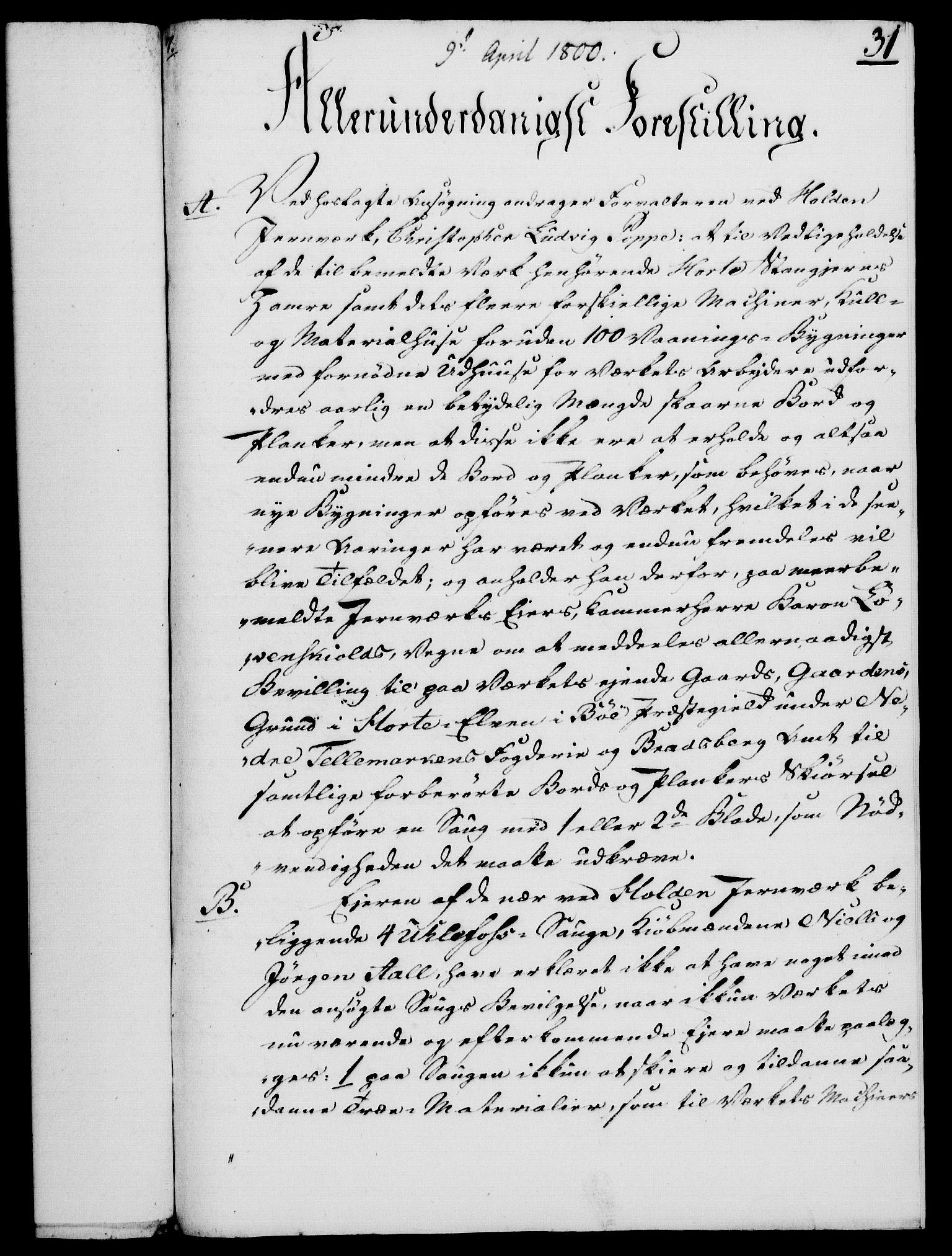 RA, Rentekammeret, Kammerkanselliet, G/Gf/Gfa/L0082: Norsk relasjons- og resolusjonsprotokoll (merket RK 52.82), 1800, s. 210