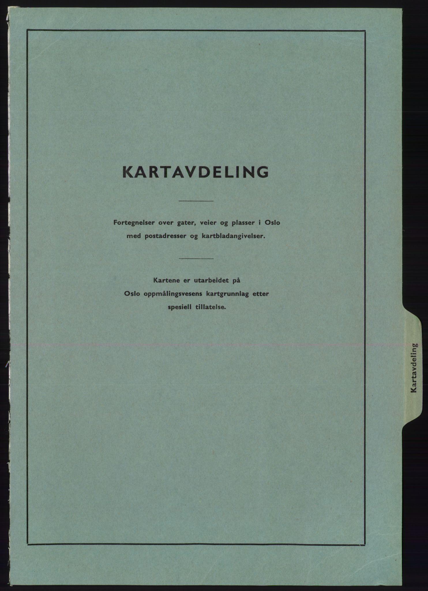 PUBL, Kristiania/Oslo adressebok, 1975-1976