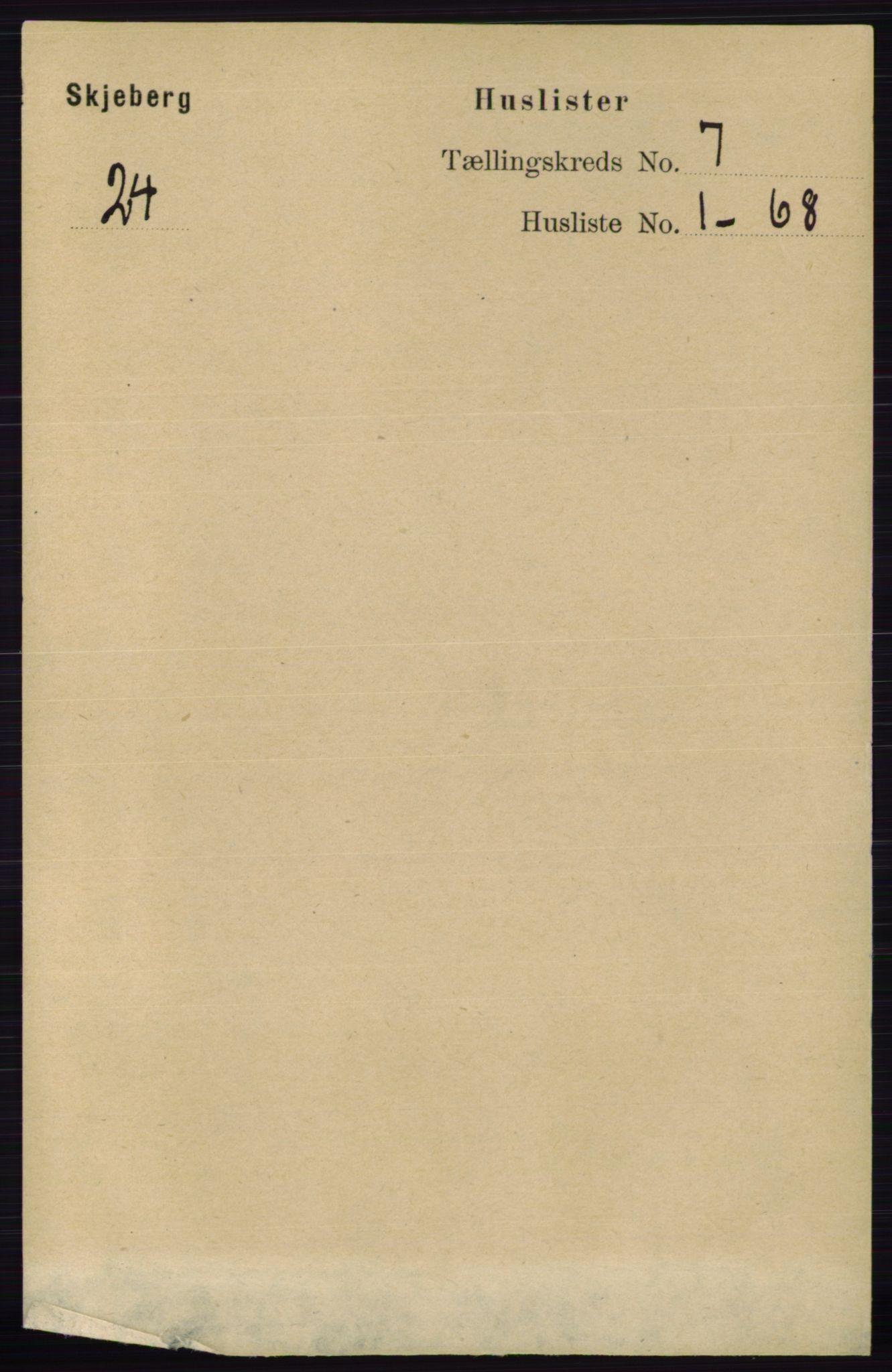 RA, Folketelling 1891 for 0115 Skjeberg herred, 1891, s. 3355