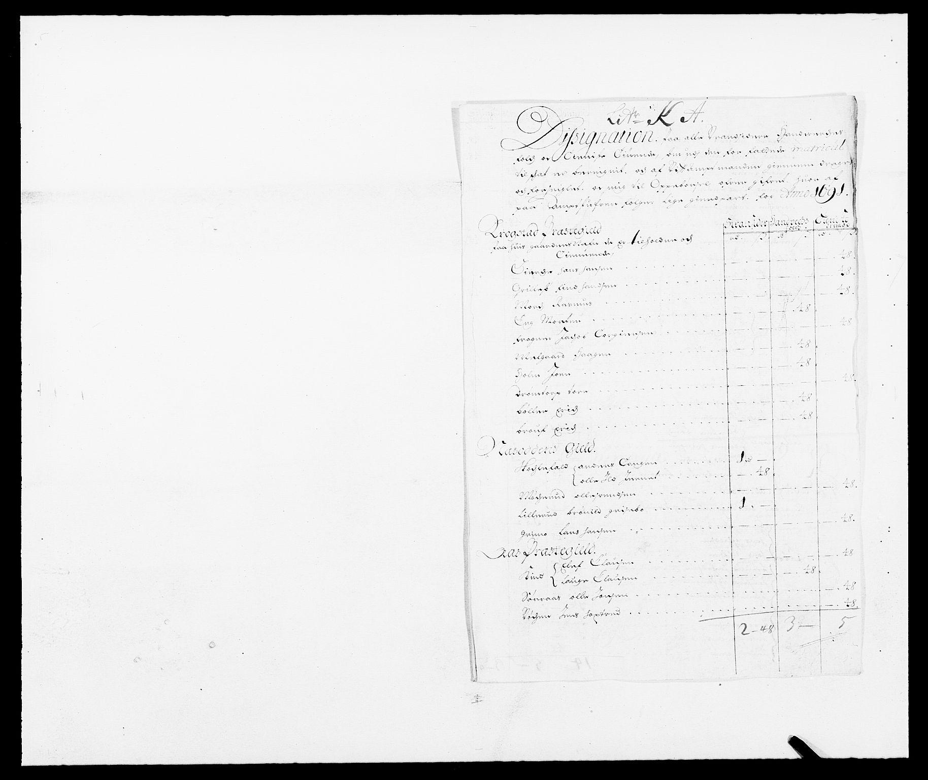 RA, Rentekammeret inntil 1814, Reviderte regnskaper, Fogderegnskap, R09/L0435: Fogderegnskap Follo, 1689-1691, s. 416