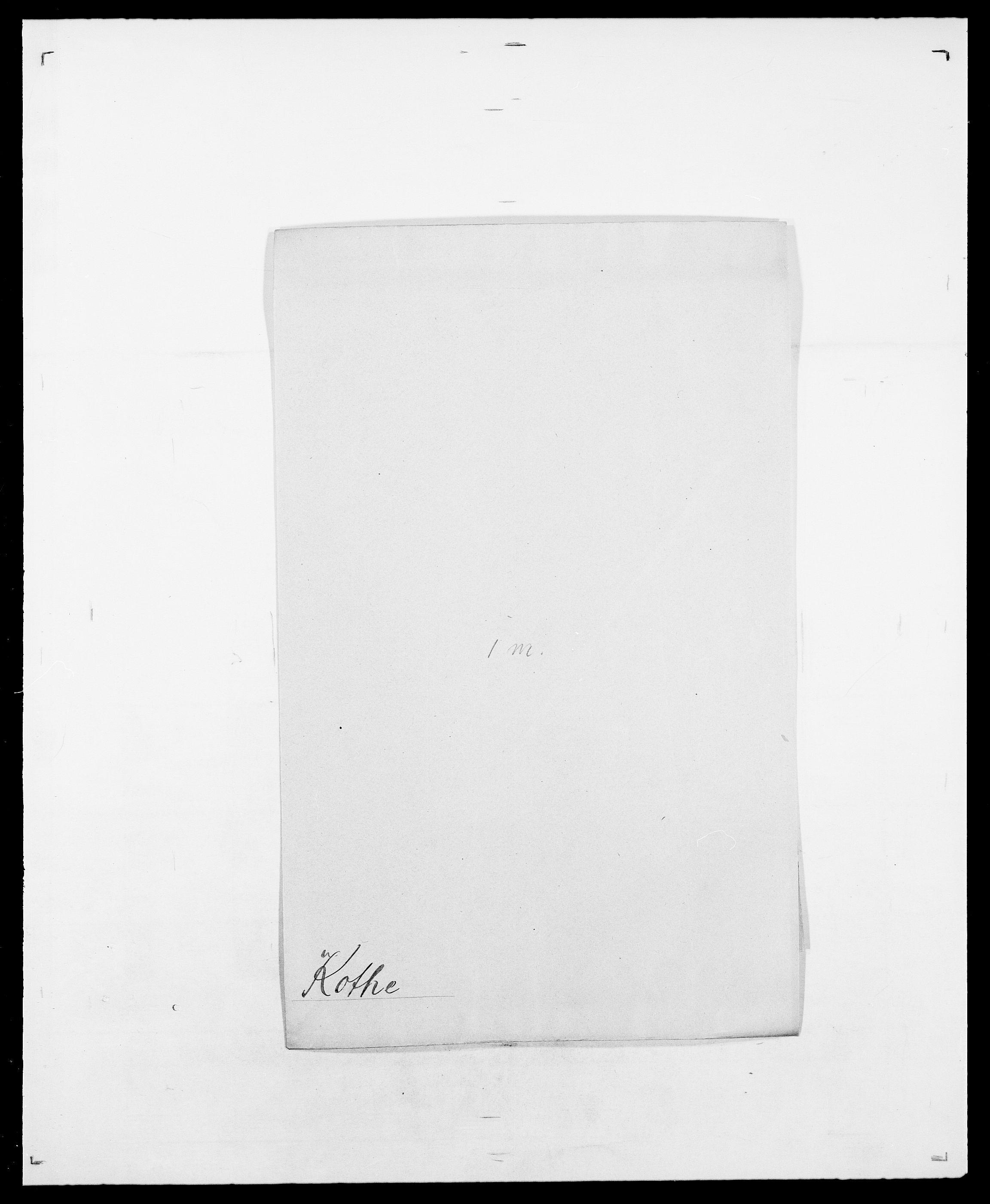 SAO, Delgobe, Charles Antoine - samling, D/Da/L0021: Klagenberg - Kristoft, s. 596