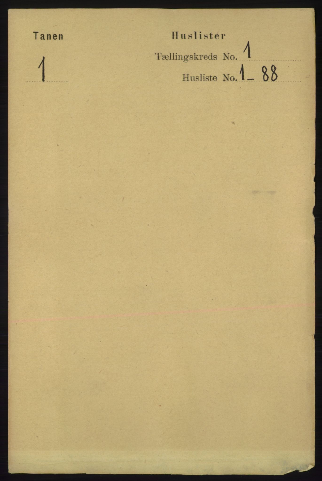 RA, Folketelling 1891 for 2025 Tana herred, 1891, s. 24