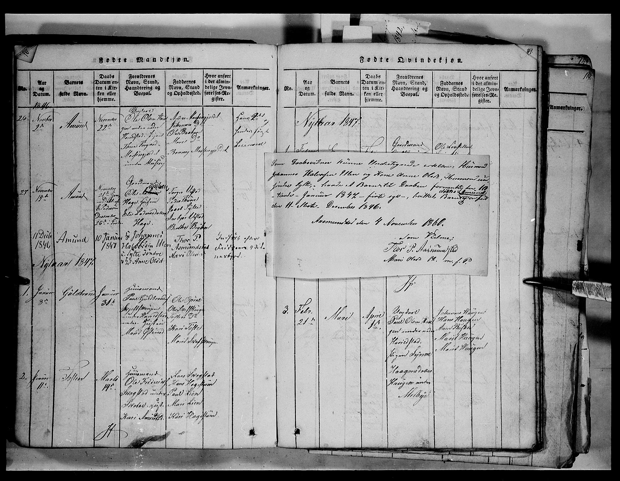 SAH, Fron prestekontor, H/Ha/Hab/L0003: Klokkerbok nr. 3, 1816-1850, s. 92
