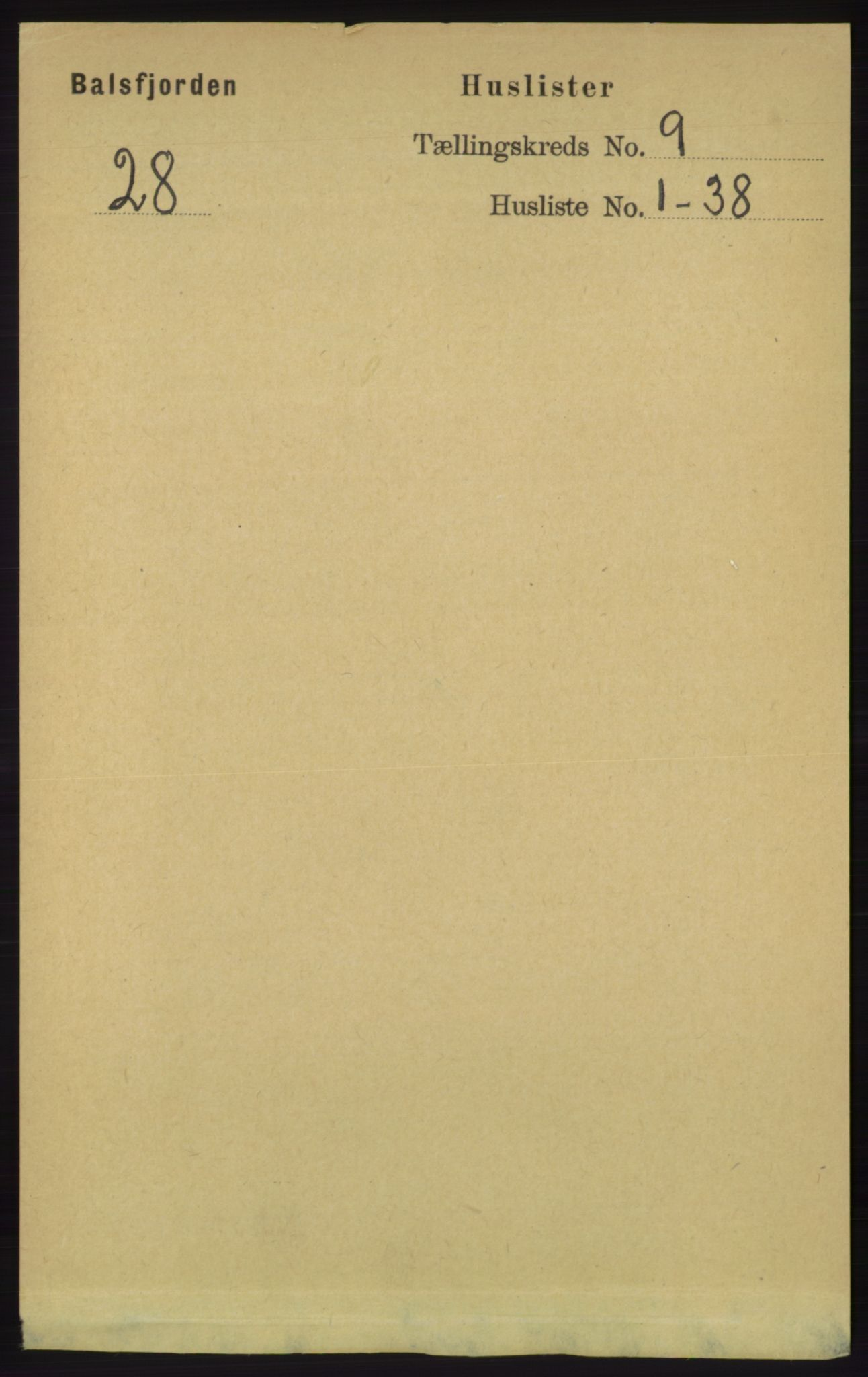 RA, Folketelling 1891 for 1933 Balsfjord herred, 1891, s. 3074