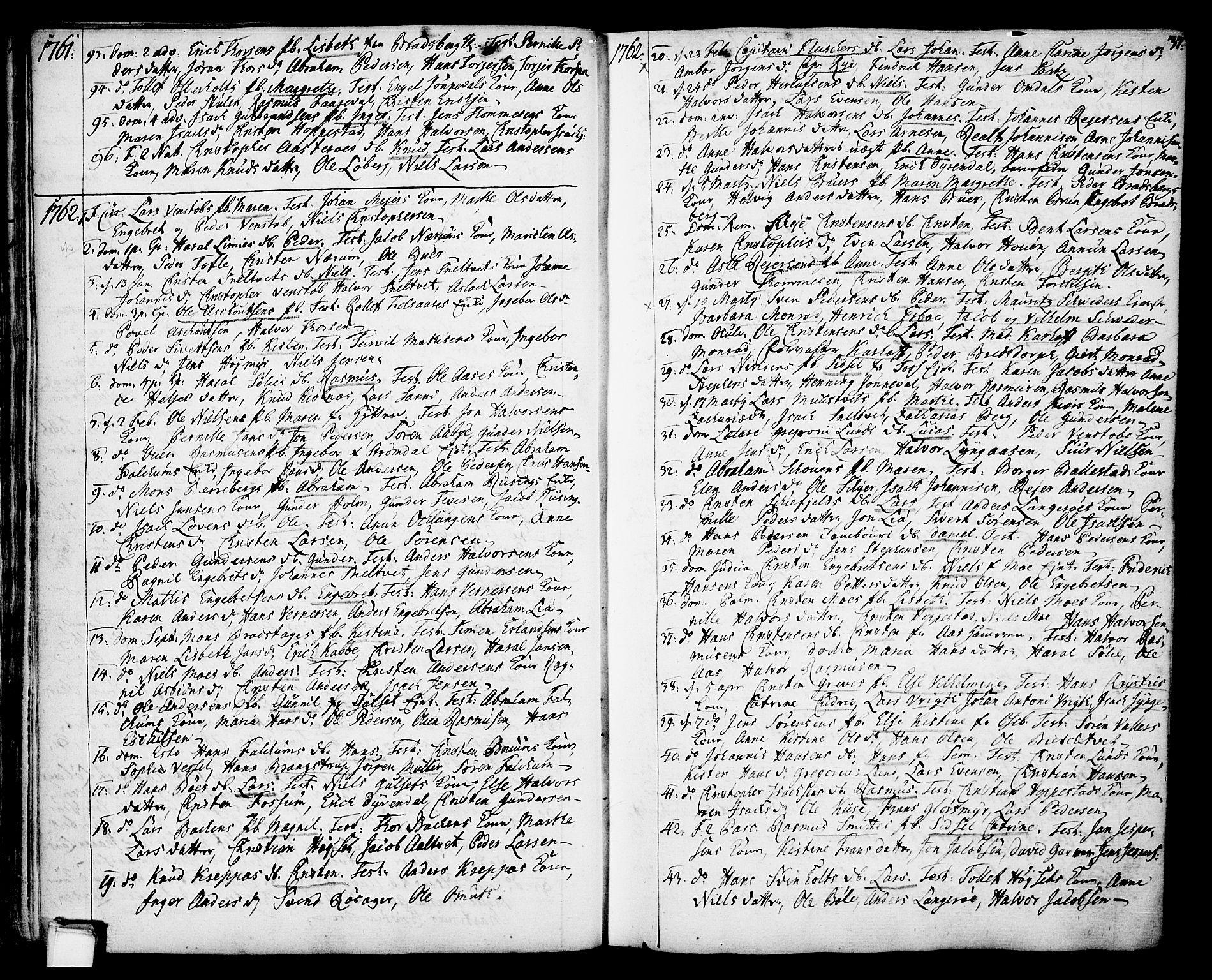 SAKO, Gjerpen kirkebøker, F/Fa/L0002: Ministerialbok nr. 2, 1747-1795, s. 37