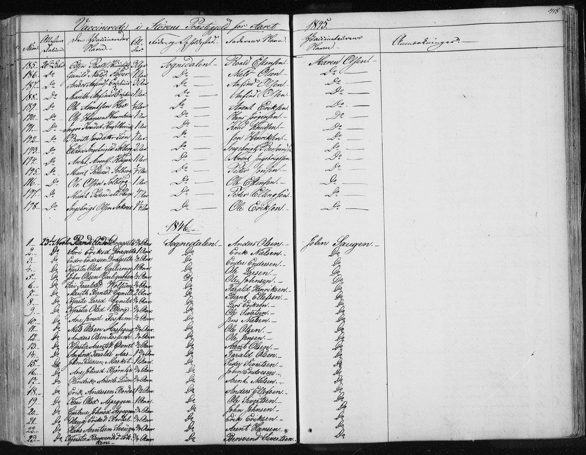 SAT, Ministerialprotokoller, klokkerbøker og fødselsregistre - Sør-Trøndelag, 687/L0997: Ministerialbok nr. 687A05 /1, 1843-1848, s. 418