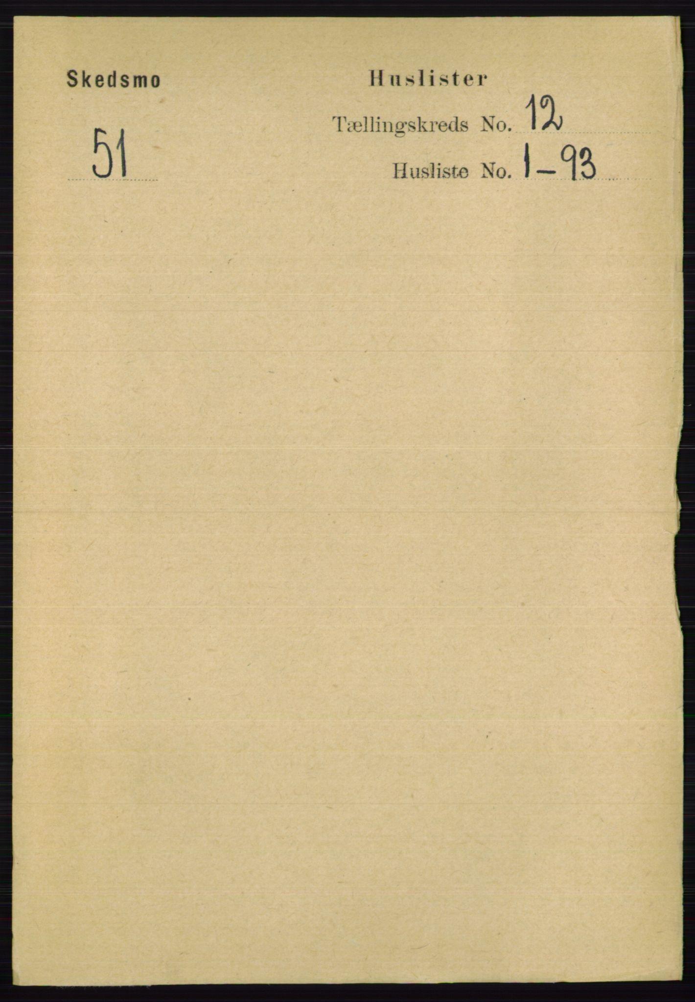 RA, Folketelling 1891 for 0231 Skedsmo herred, 1891, s. 6688