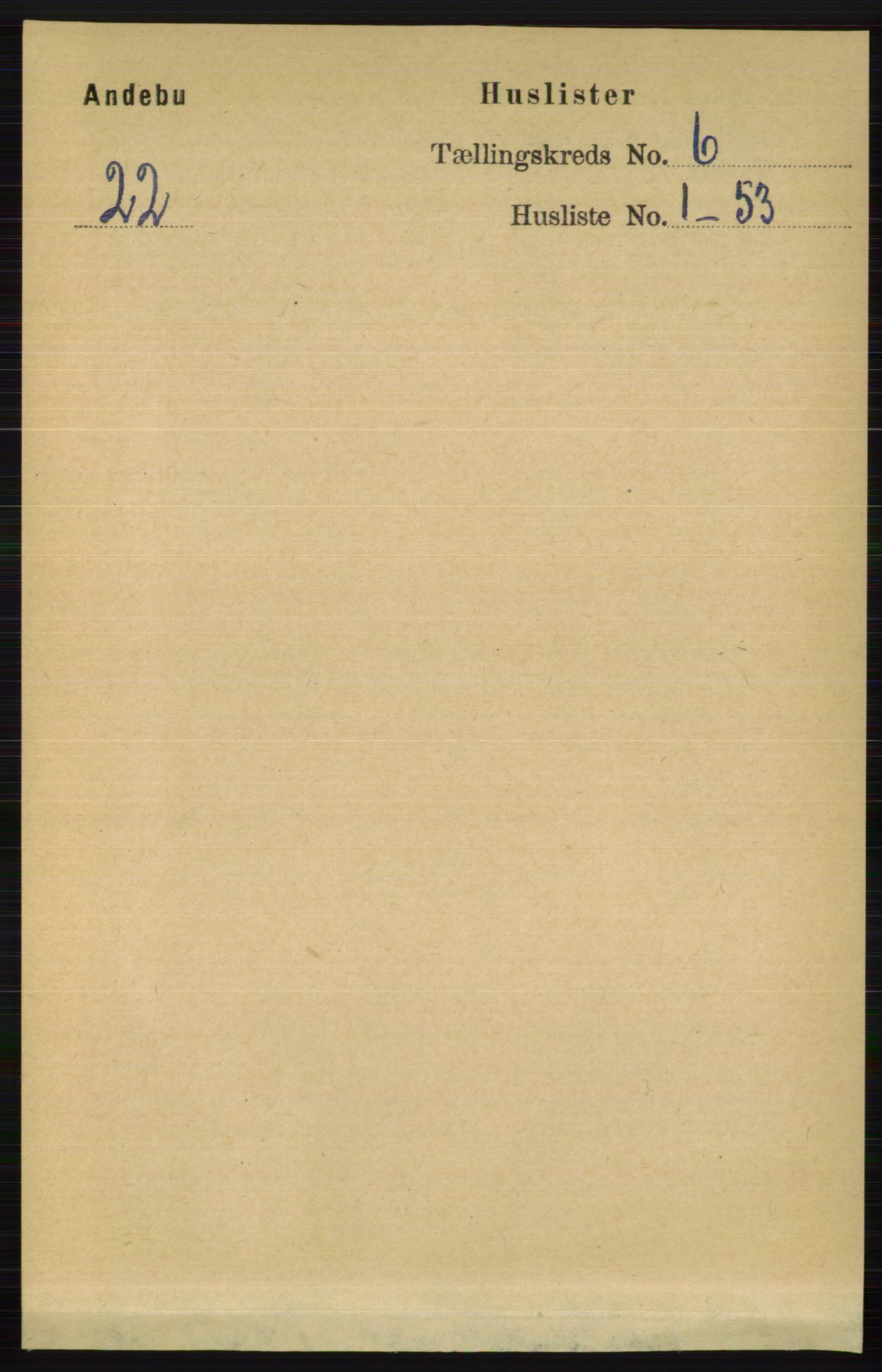 RA, Folketelling 1891 for 0719 Andebu herred, 1891, s. 3062