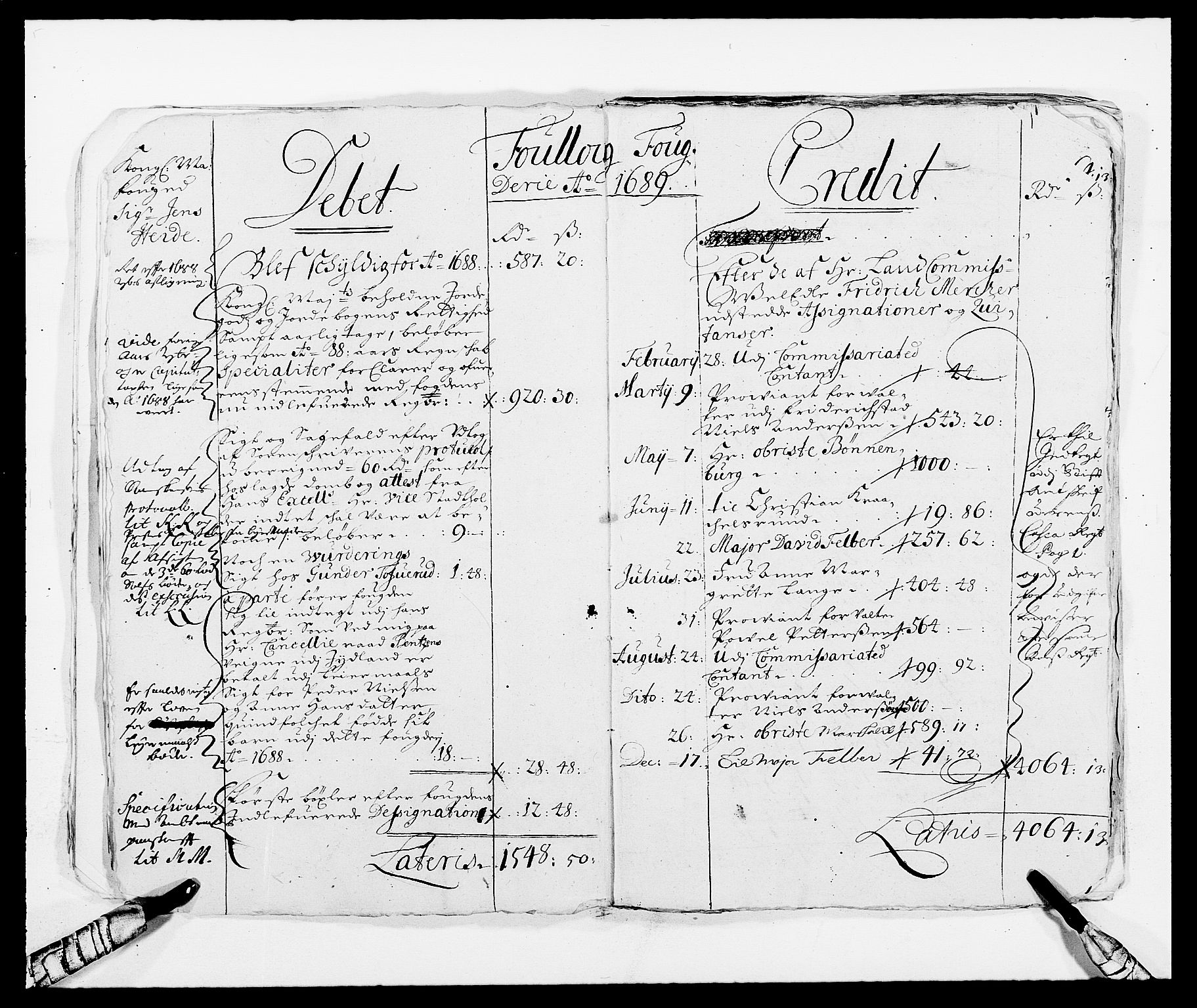RA, Rentekammeret inntil 1814, Reviderte regnskaper, Fogderegnskap, R09/L0436: Fogderegnskap Follo, 1685-1691, s. 21