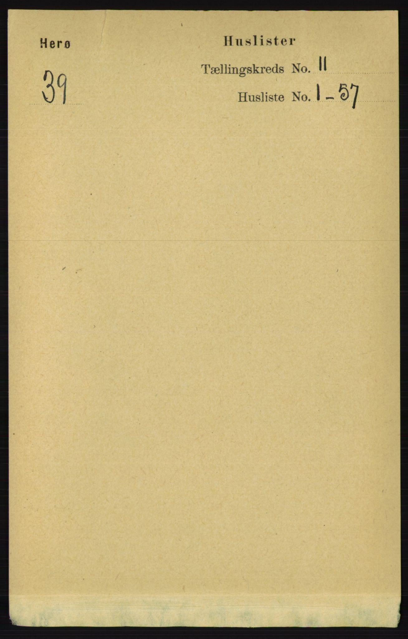 RA, Folketelling 1891 for 1818 Herøy herred, 1891, s. 4290