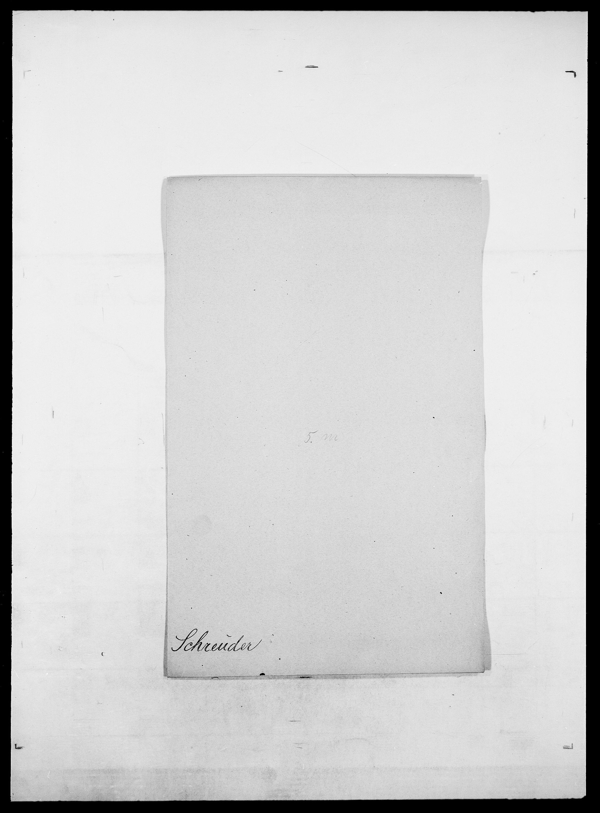 SAO, Delgobe, Charles Antoine - samling, D/Da/L0035: Schnabel - sjetman, s. 159