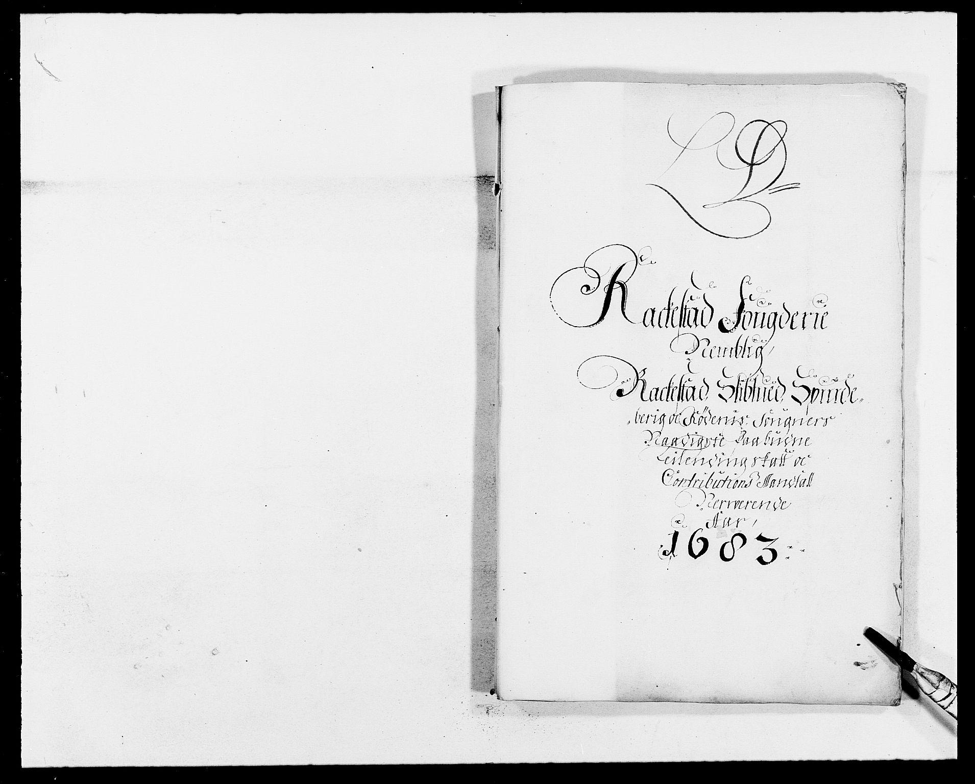 RA, Rentekammeret inntil 1814, Reviderte regnskaper, Fogderegnskap, R05/L0274: Fogderegnskap Rakkestad, 1683-1684, s. 46