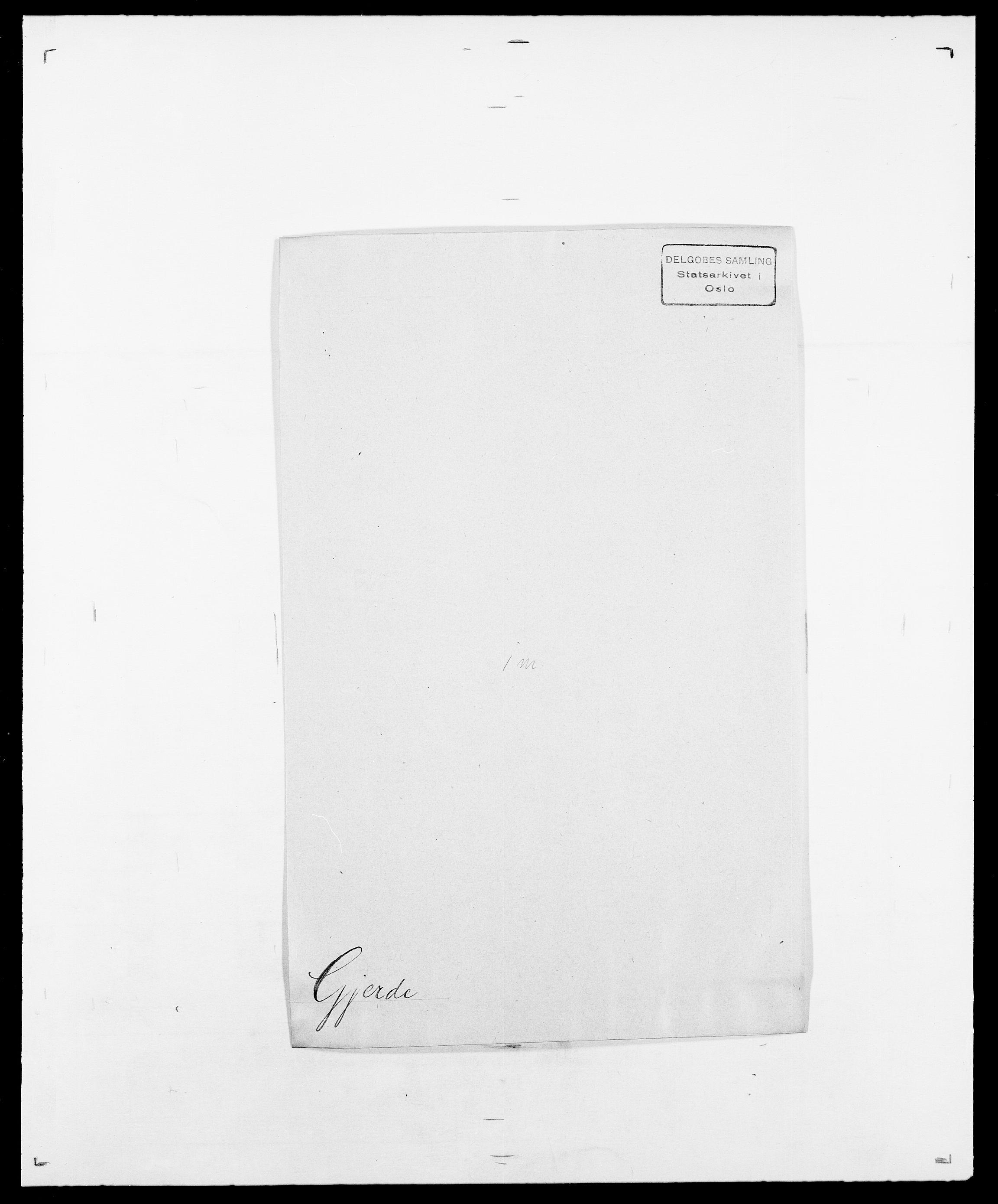 SAO, Delgobe, Charles Antoine - samling, D/Da/L0014: Giebdhausen - Grip, s. 105