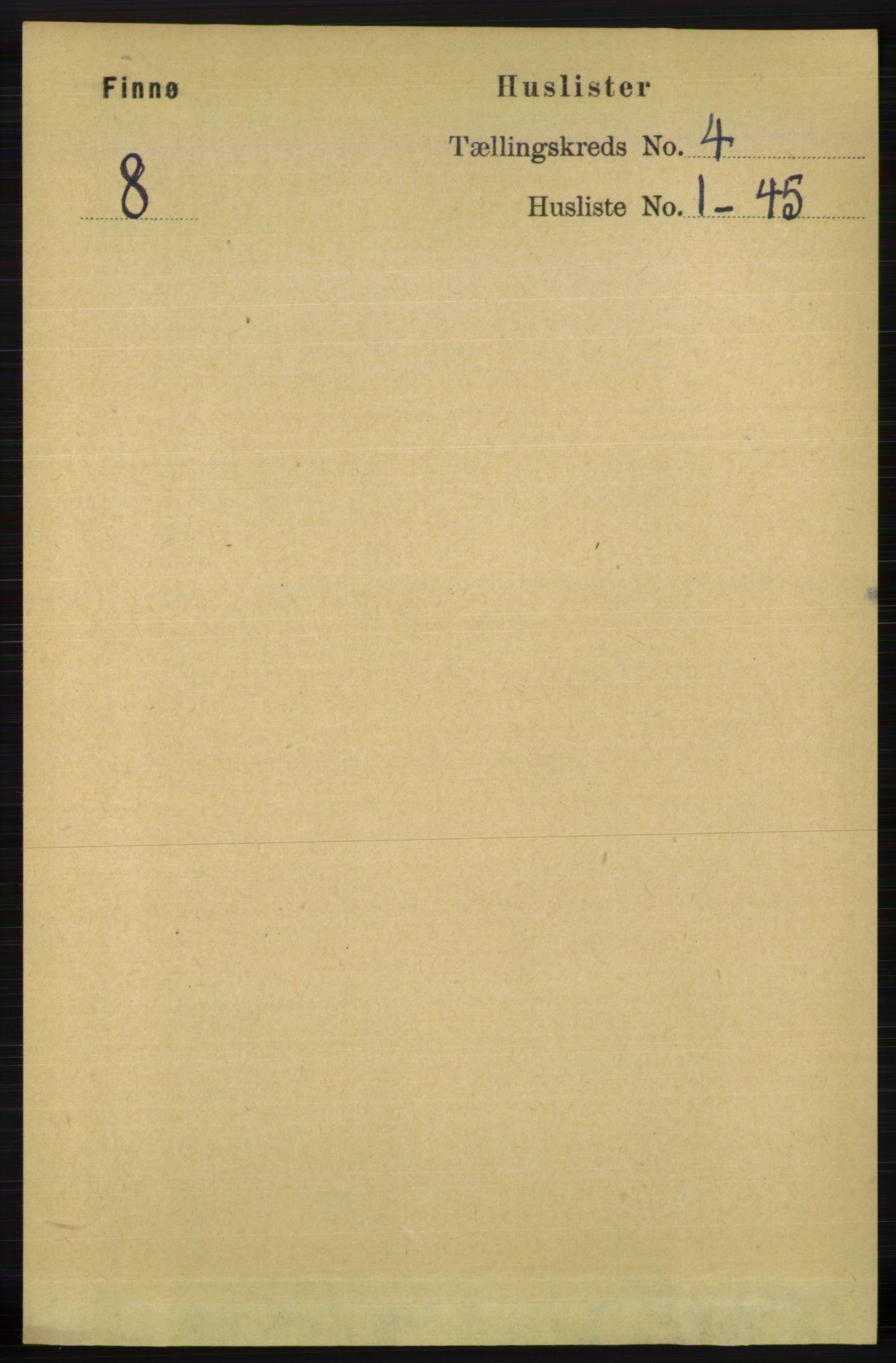 RA, Folketelling 1891 for 1141 Finnøy herred, 1891, s. 777