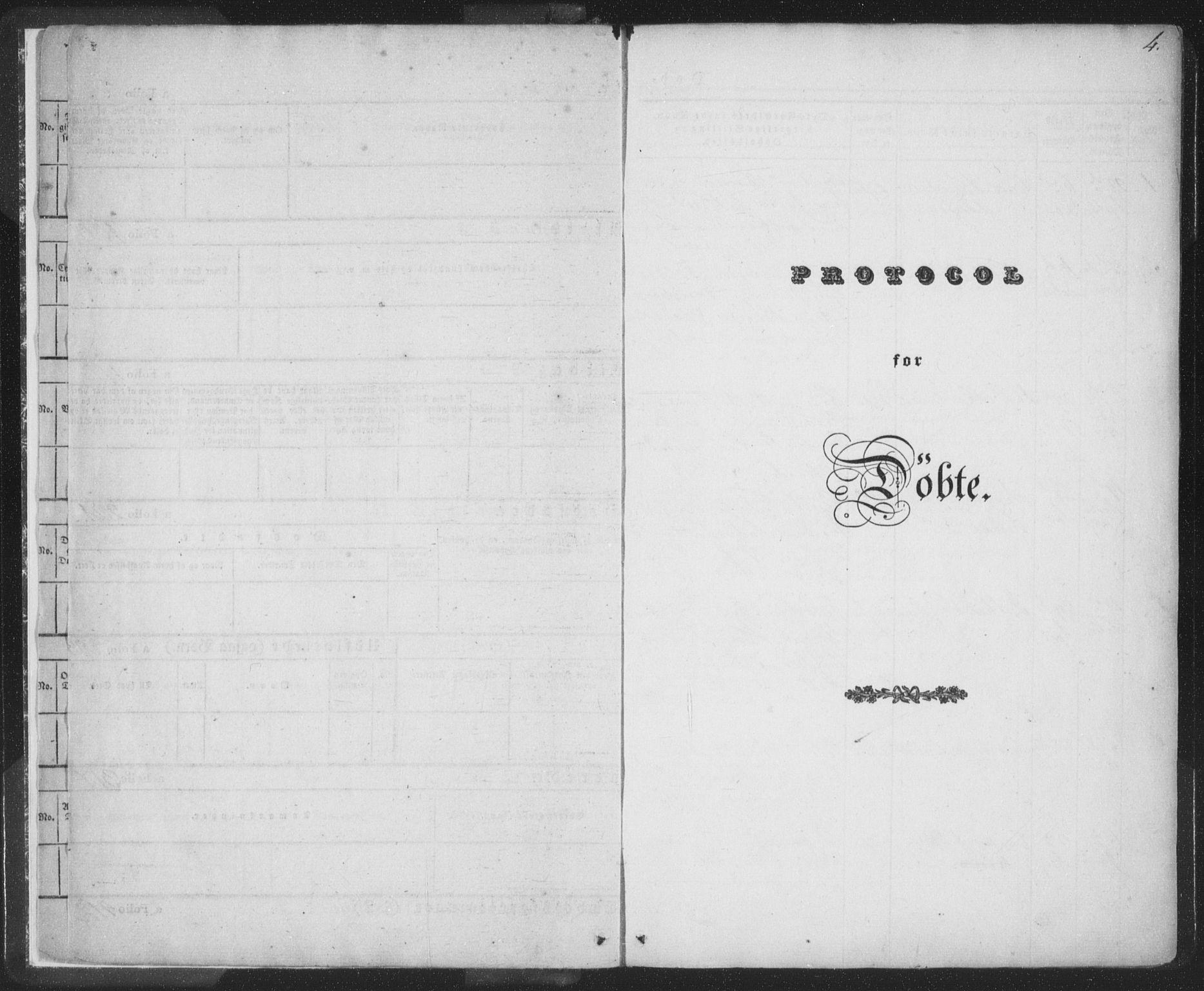 SAT, Ministerialprotokoller, klokkerbøker og fødselsregistre - Nordland, 885/L1202: Ministerialbok nr. 885A03, 1838-1859, s. 4