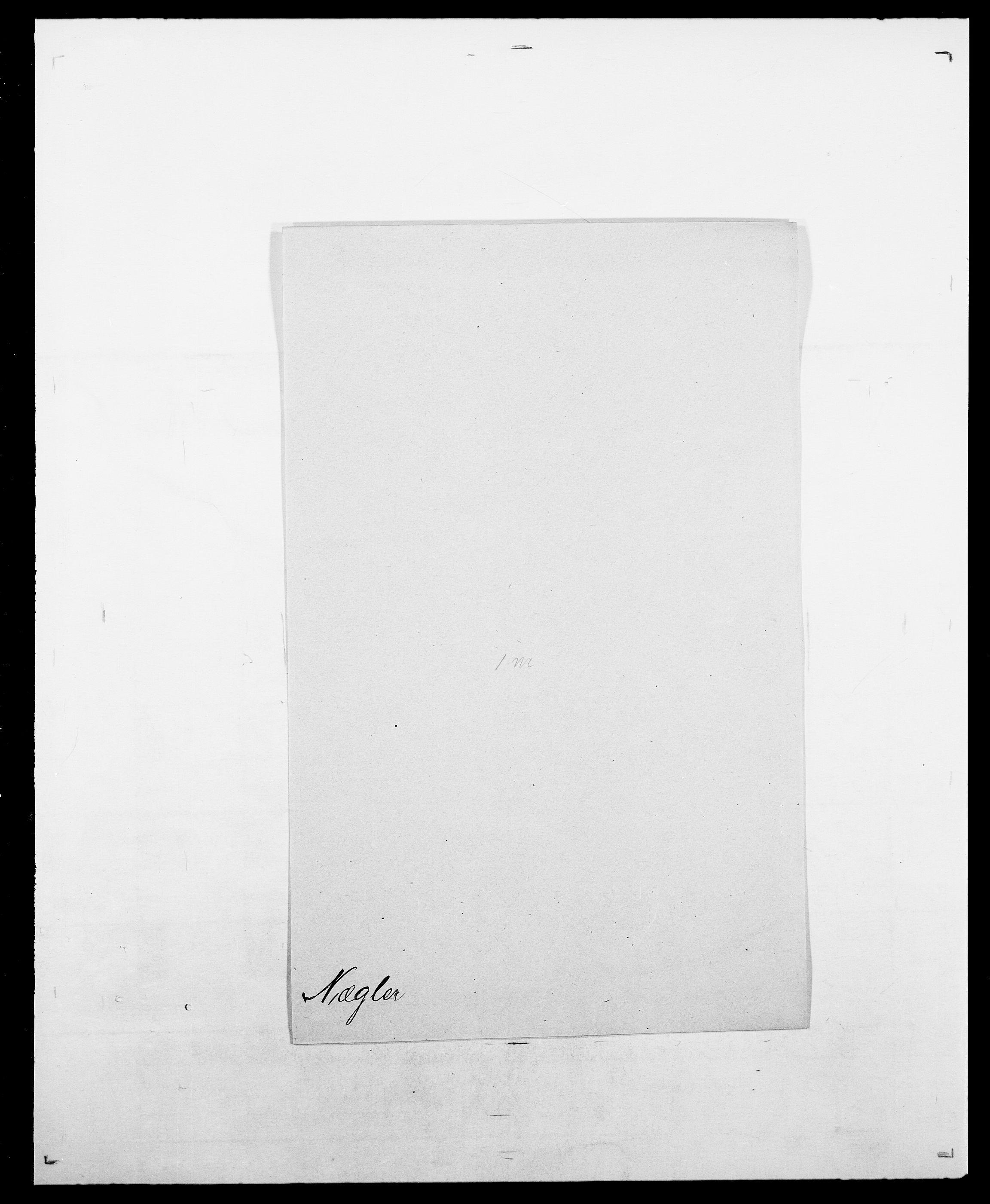 SAO, Delgobe, Charles Antoine - samling, D/Da/L0028: Naaden - Nøvik, s. 587