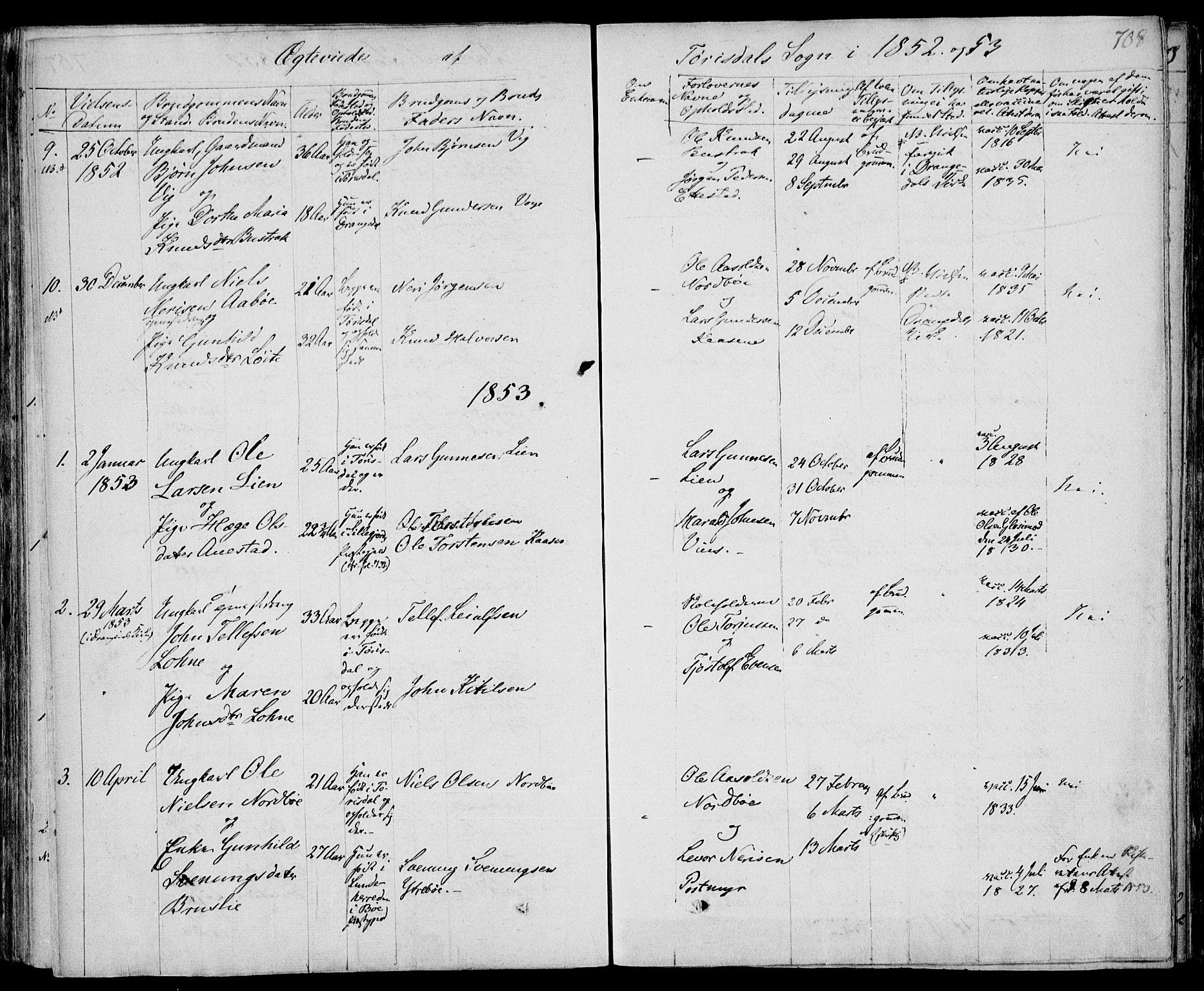 SAKO, Drangedal kirkebøker, F/Fa/L0007b: Ministerialbok nr. 7b, 1837-1856, s. 708