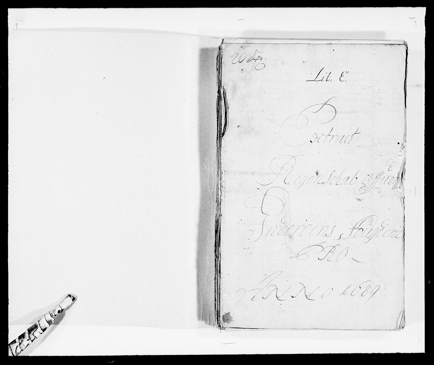 RA, Rentekammeret inntil 1814, Reviderte regnskaper, Fogderegnskap, R63/L4306: Fogderegnskap Inderøy, 1687-1689, s. 386