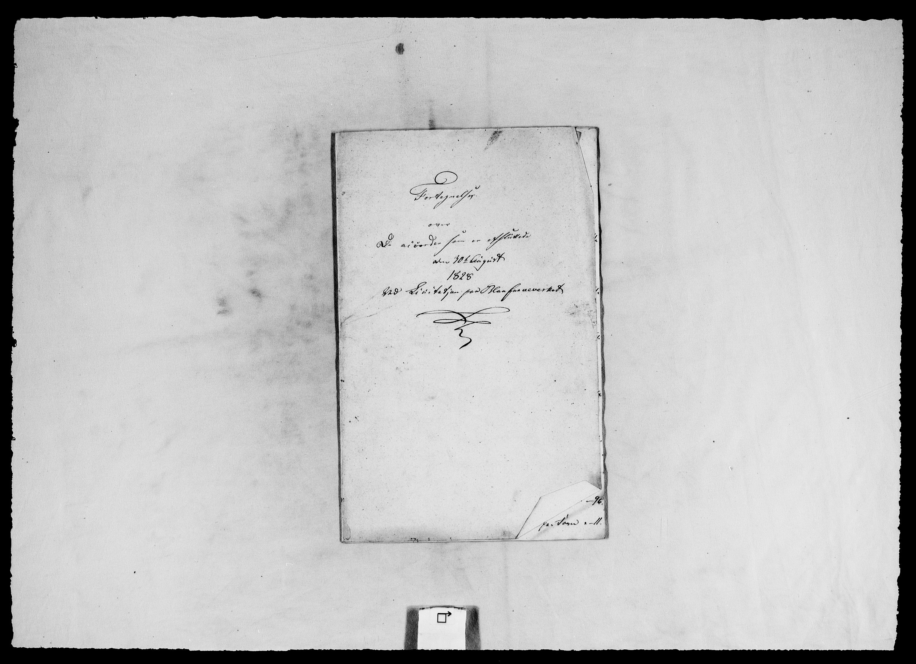 RA, Modums Blaafarveværk, G/Ga/L0063, 1827-1849, s. 43