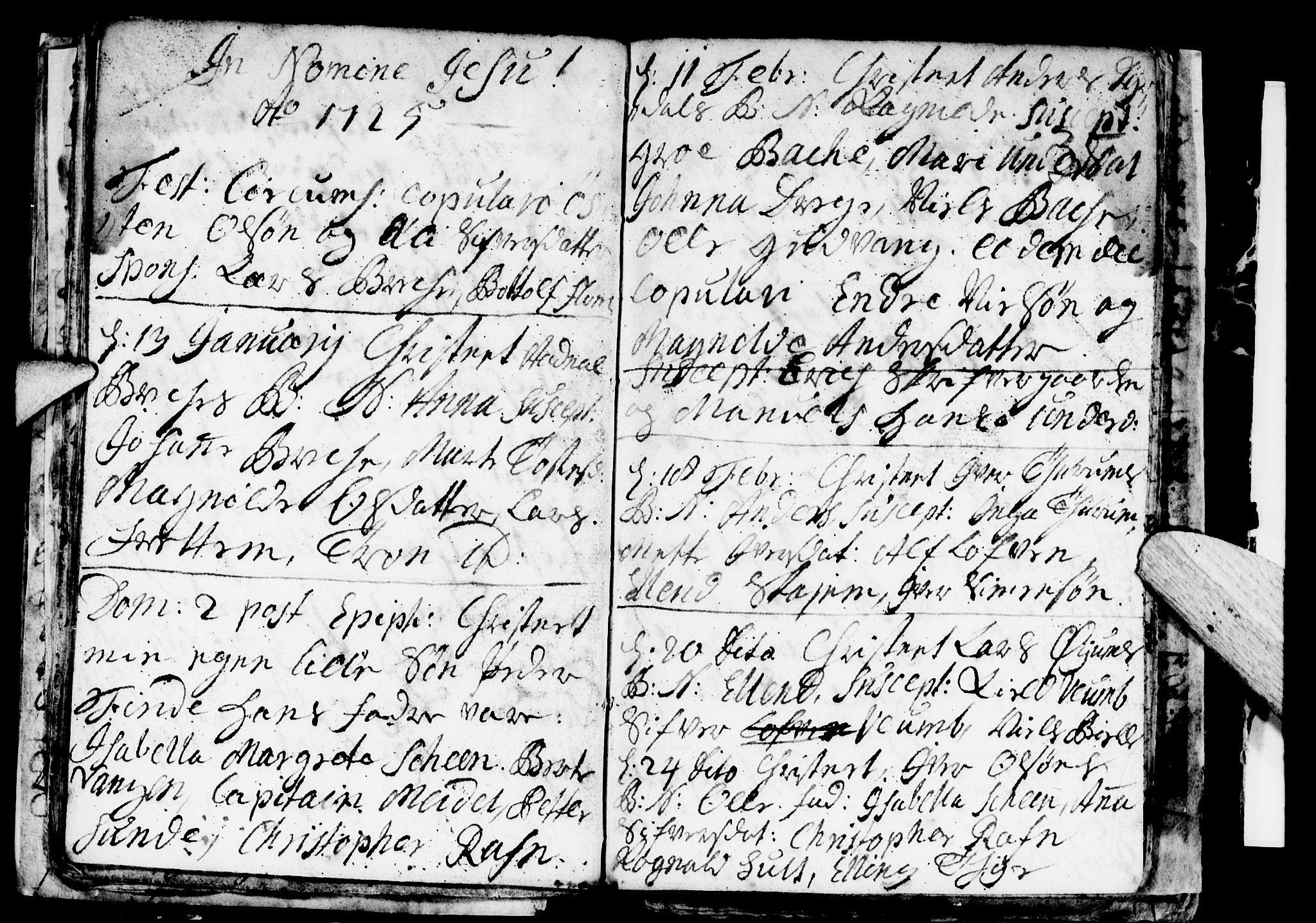 SAB, Aurland Sokneprestembete*, Ministerialbok nr. A 1, 1716-1734, s. 35