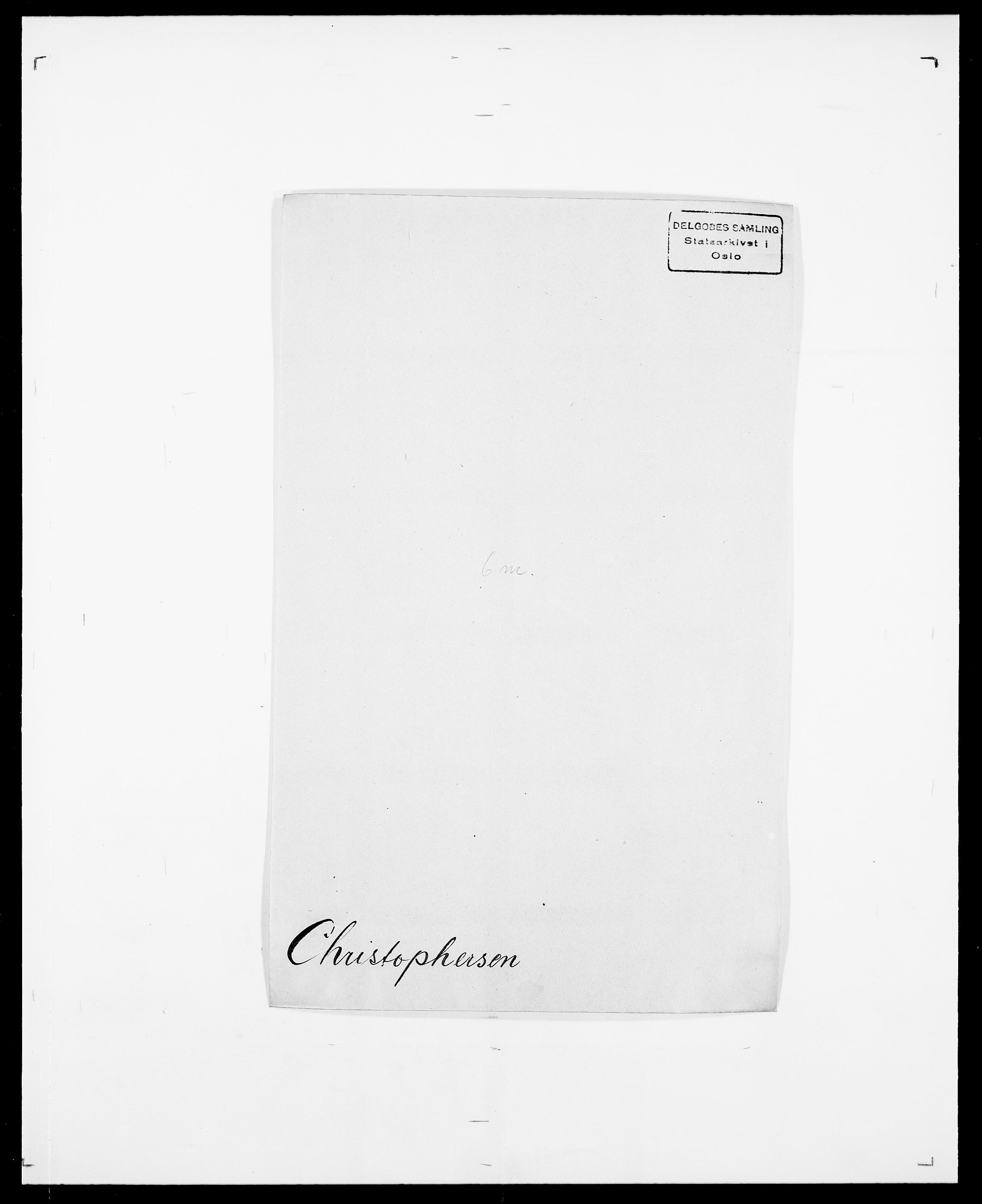 SAO, Delgobe, Charles Antoine - samling, D/Da/L0008: Capjon - Dagenbolt, s. 279