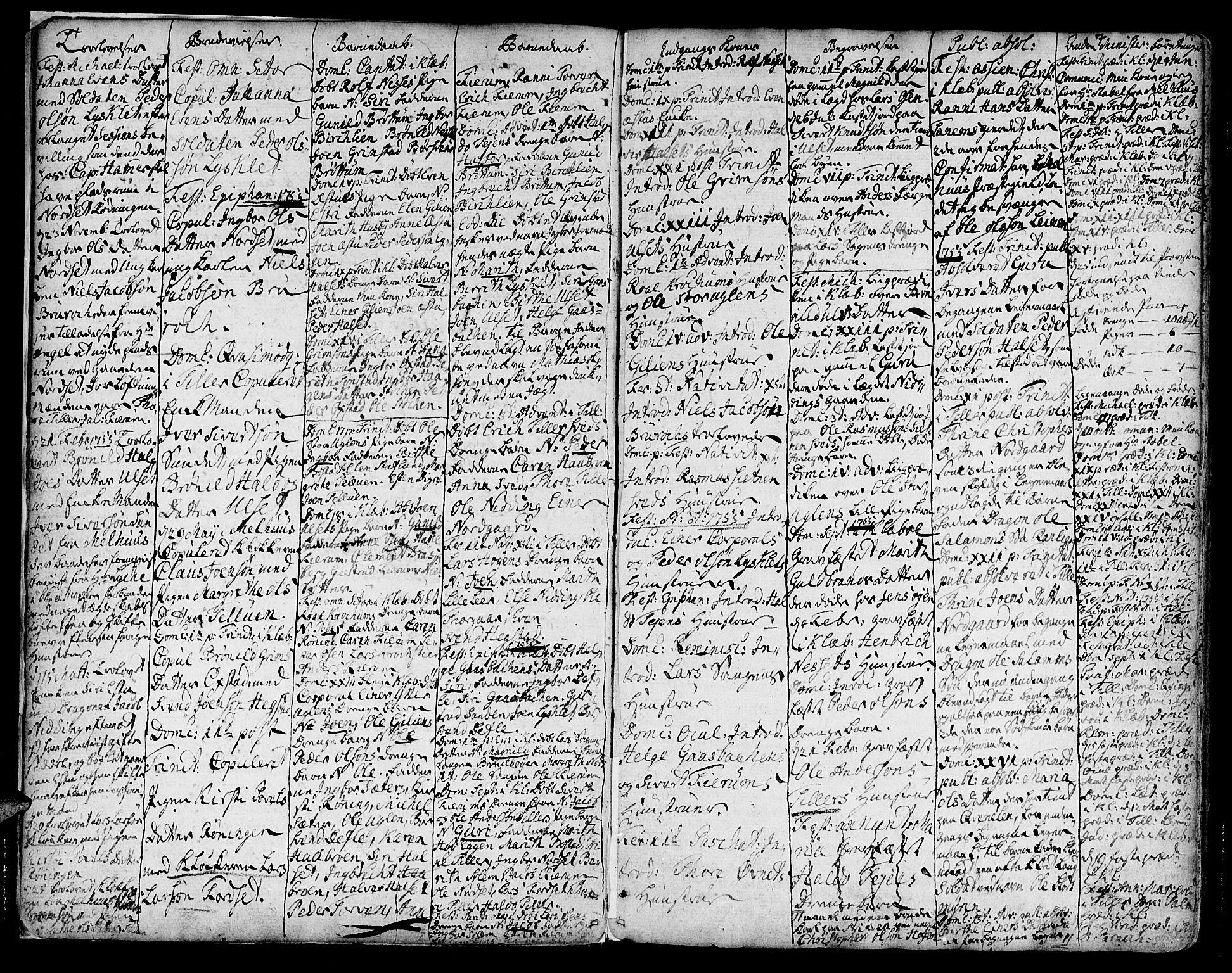 SAT, Ministerialprotokoller, klokkerbøker og fødselsregistre - Sør-Trøndelag, 618/L0437: Ministerialbok nr. 618A02, 1749-1782, s. 7