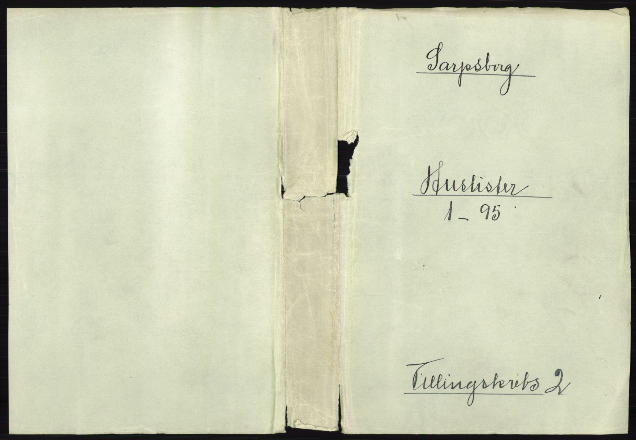 RA, Folketelling 1891 for 0102 Sarpsborg kjøpstad, 1891, s. 1069