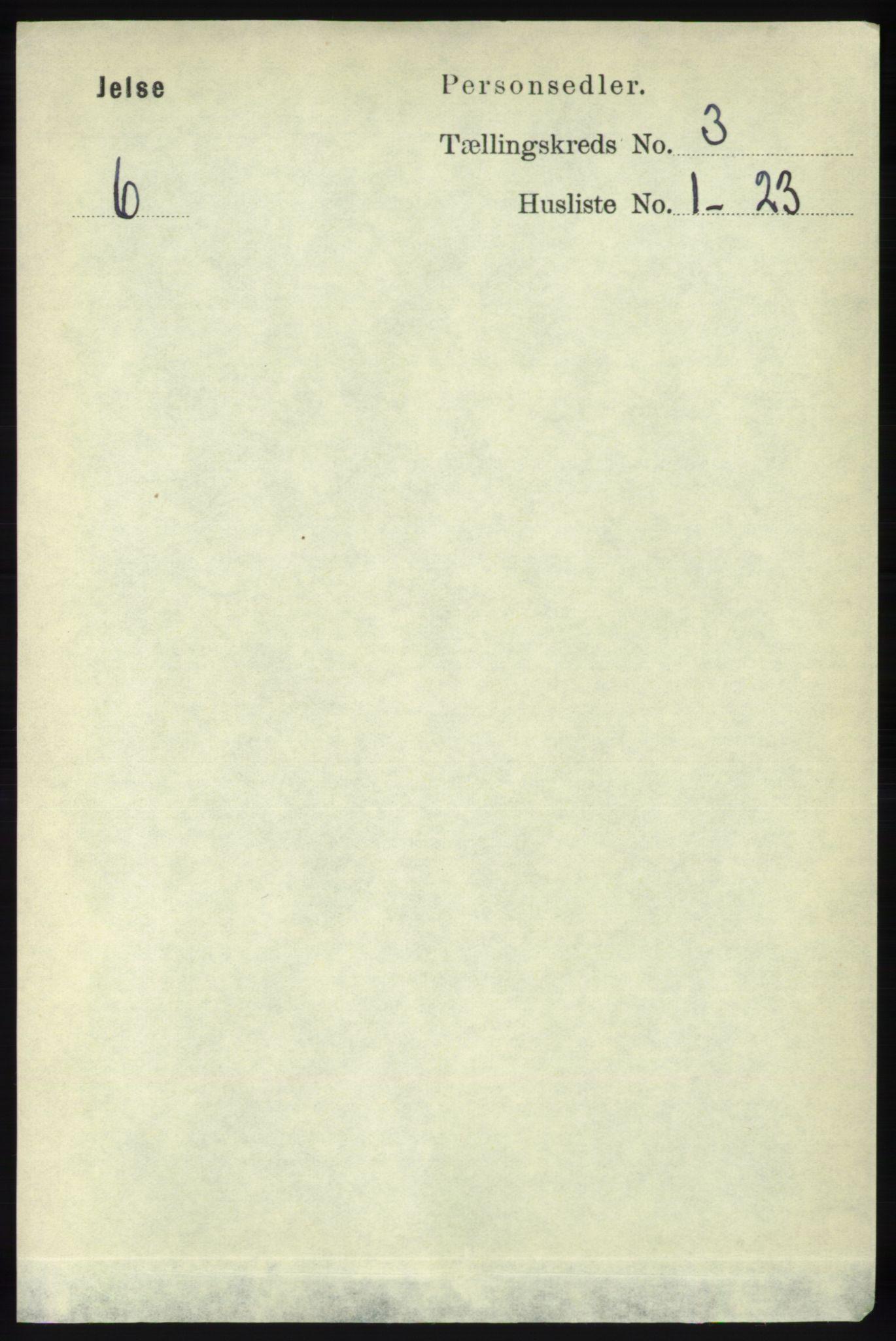 RA, Folketelling 1891 for 1138 Jelsa herred, 1891, s. 376