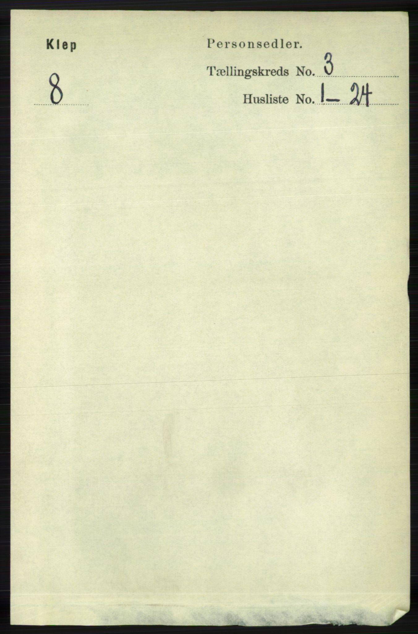 RA, Folketelling 1891 for 1120 Klepp herred, 1891, s. 640