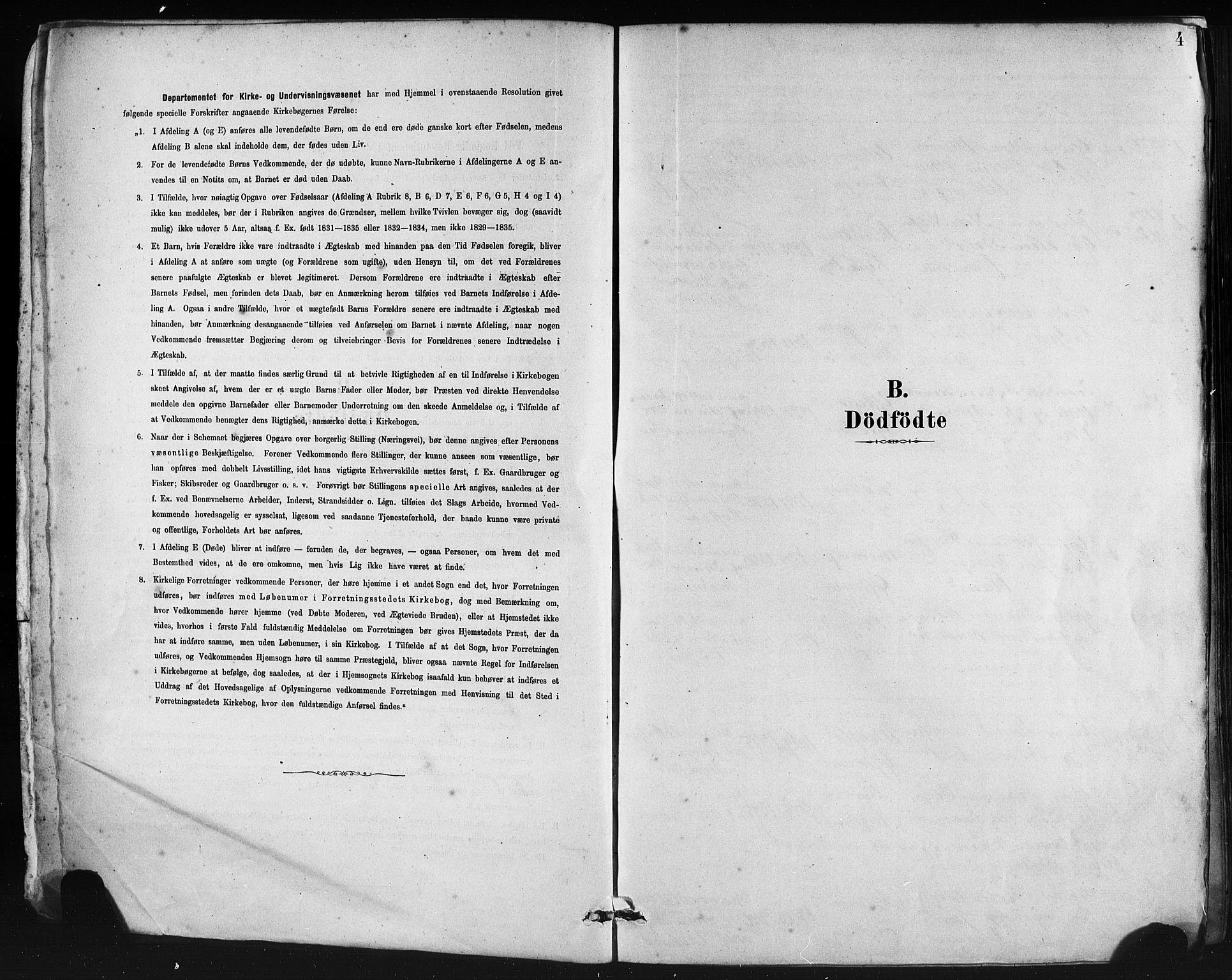 SAB, Lindås Sokneprestembete, H/Haa: Ministerialbok nr. A 19, 1878-1912, s. 4