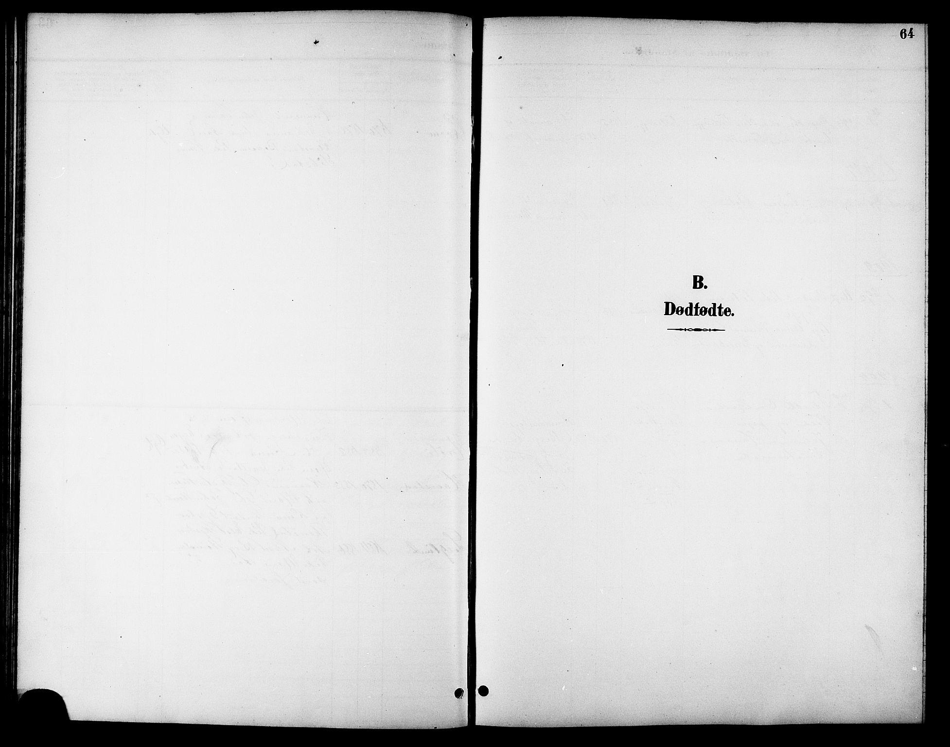 SAT, Ministerialprotokoller, klokkerbøker og fødselsregistre - Sør-Trøndelag, 621/L0460: Klokkerbok nr. 621C03, 1896-1914, s. 64