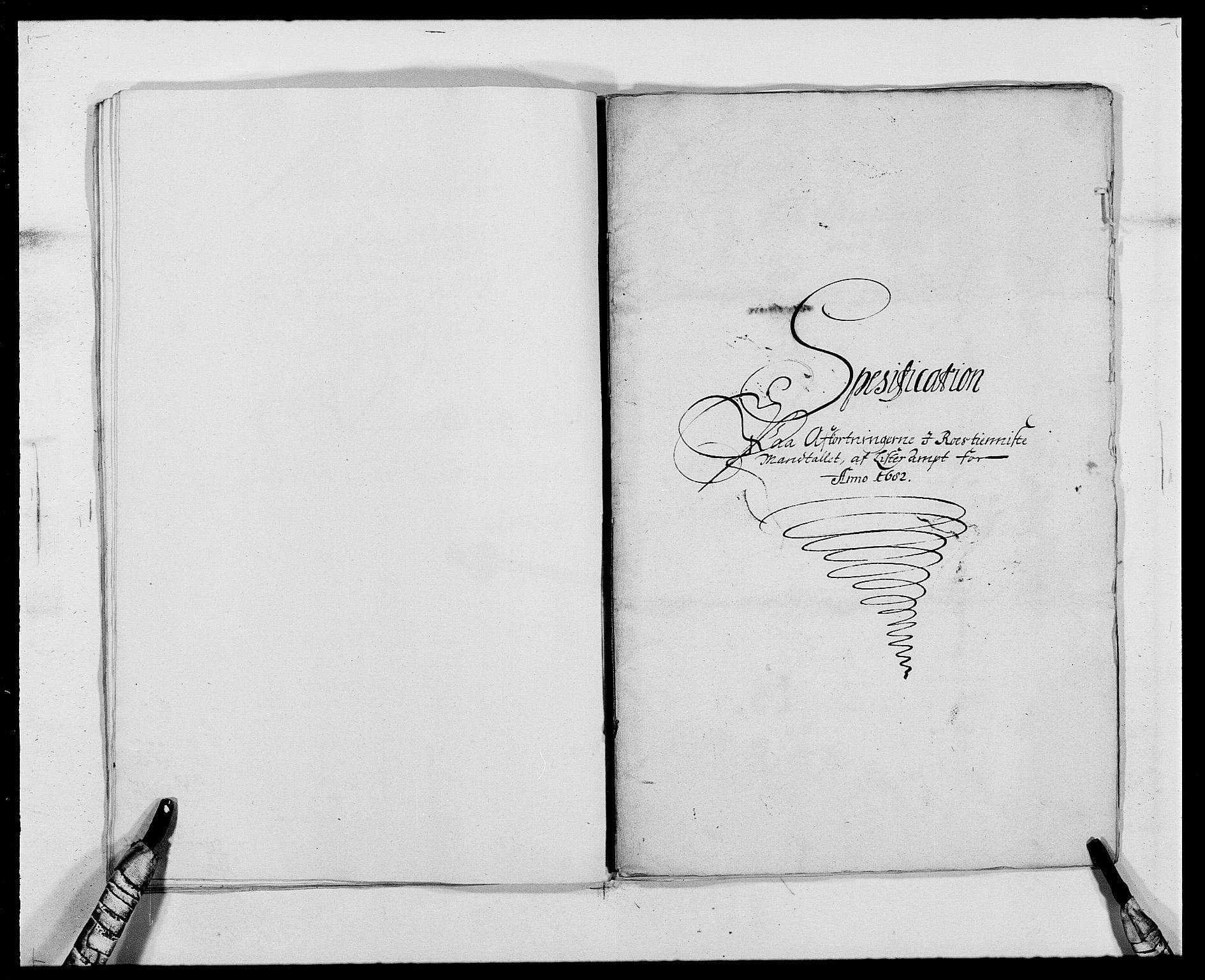 RA, Rentekammeret inntil 1814, Reviderte regnskaper, Fogderegnskap, R41/L2531: Fogderegnskap Lista, 1680-1682, s. 196