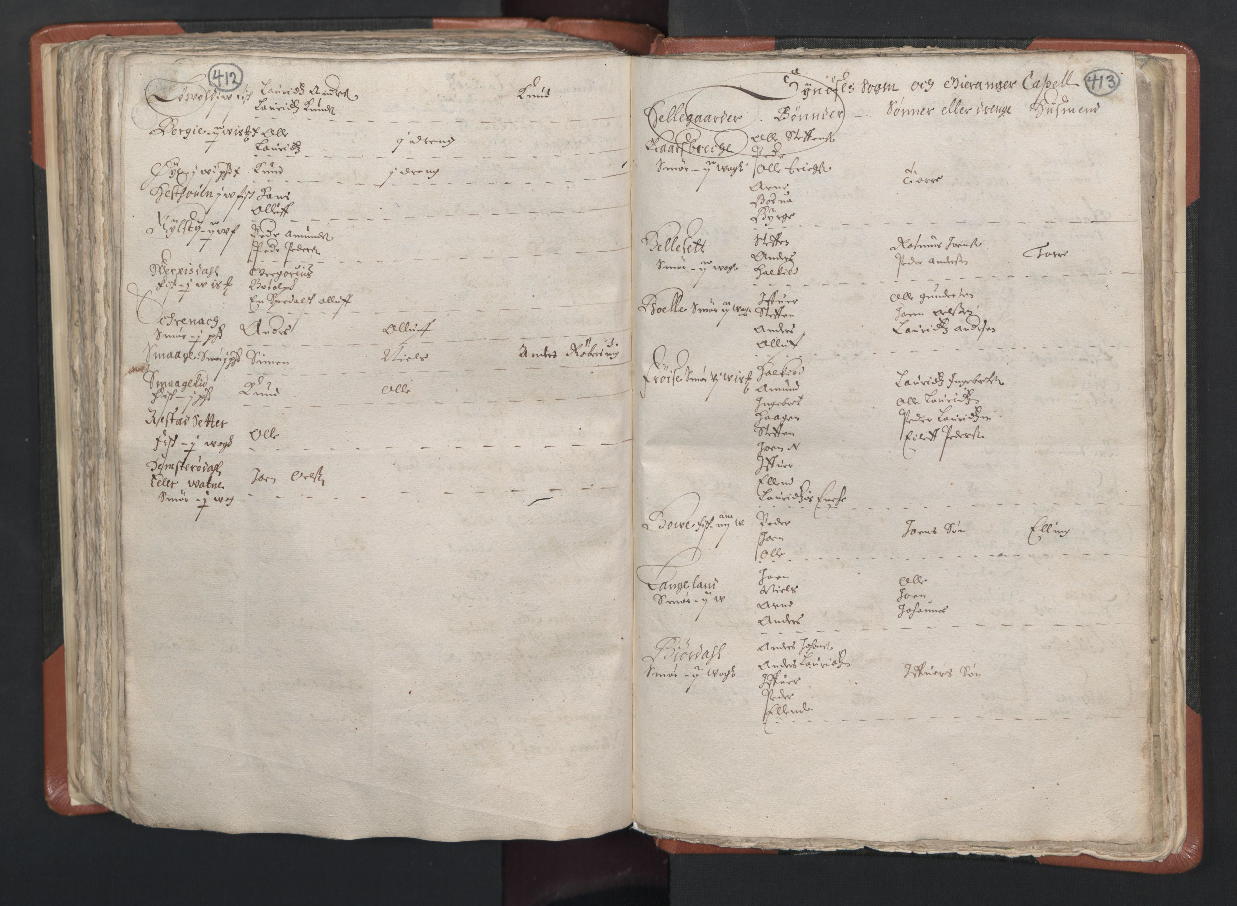 RA, Sogneprestenes manntall 1664-1666, nr. 26: Sunnmøre prosti, 1664-1666, s. 412-413