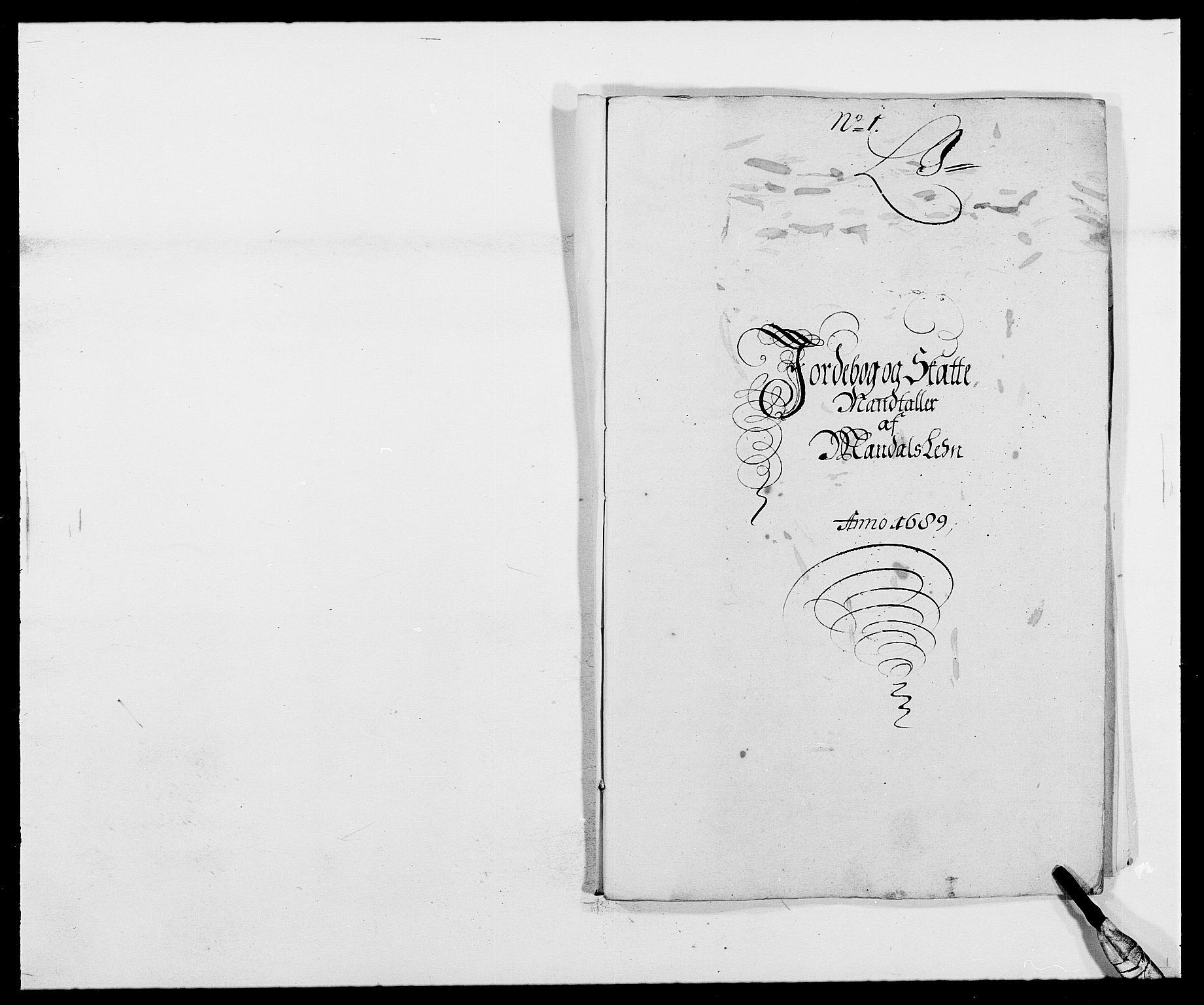 RA, Rentekammeret inntil 1814, Reviderte regnskaper, Fogderegnskap, R42/L2543: Mandal fogderi, 1688-1691, s. 123