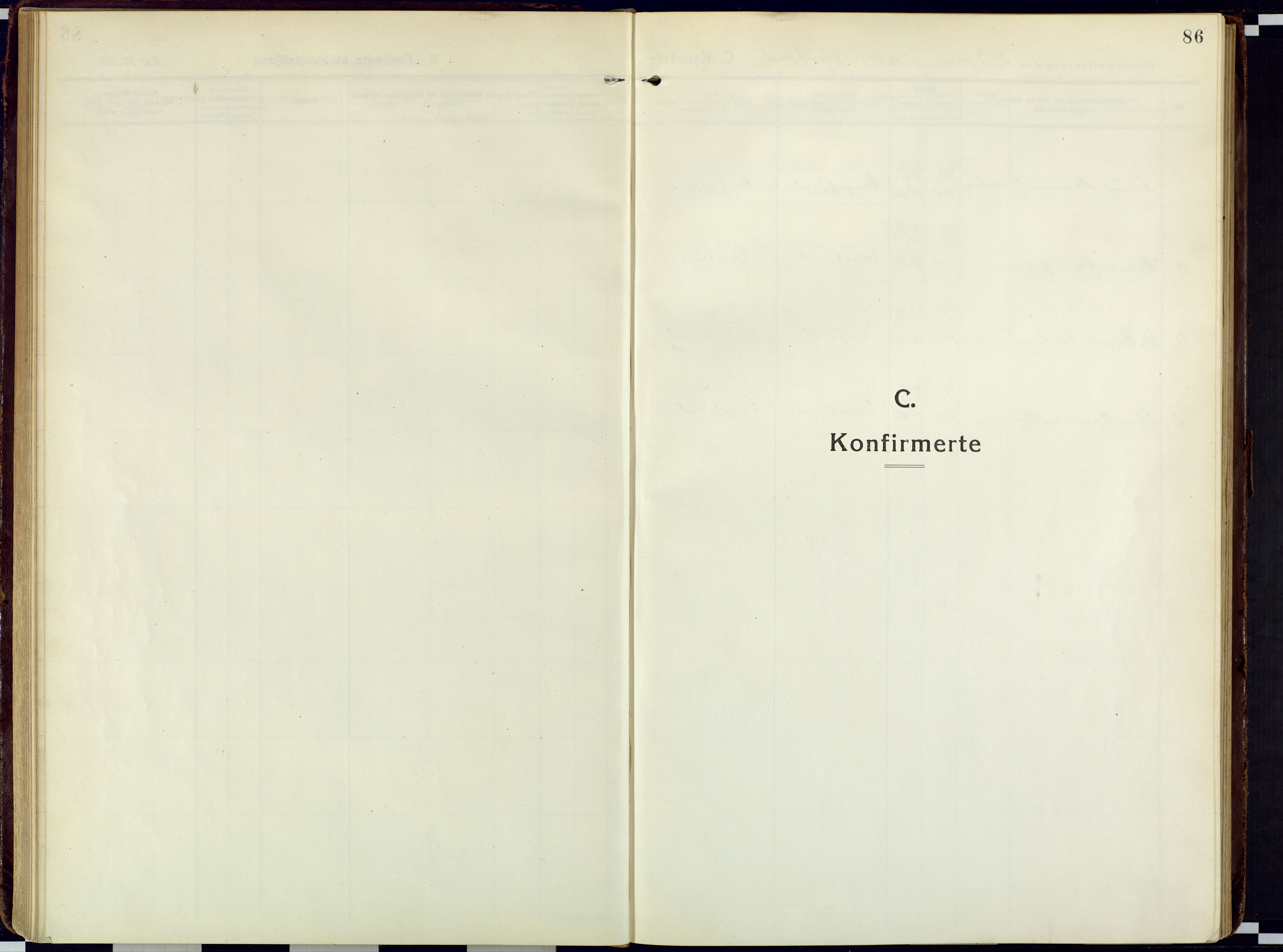 SATØ, Loppa sokneprestkontor, H/Ha/L0013kirke: Ministerialbok nr. 13, 1920-1932, s. 86