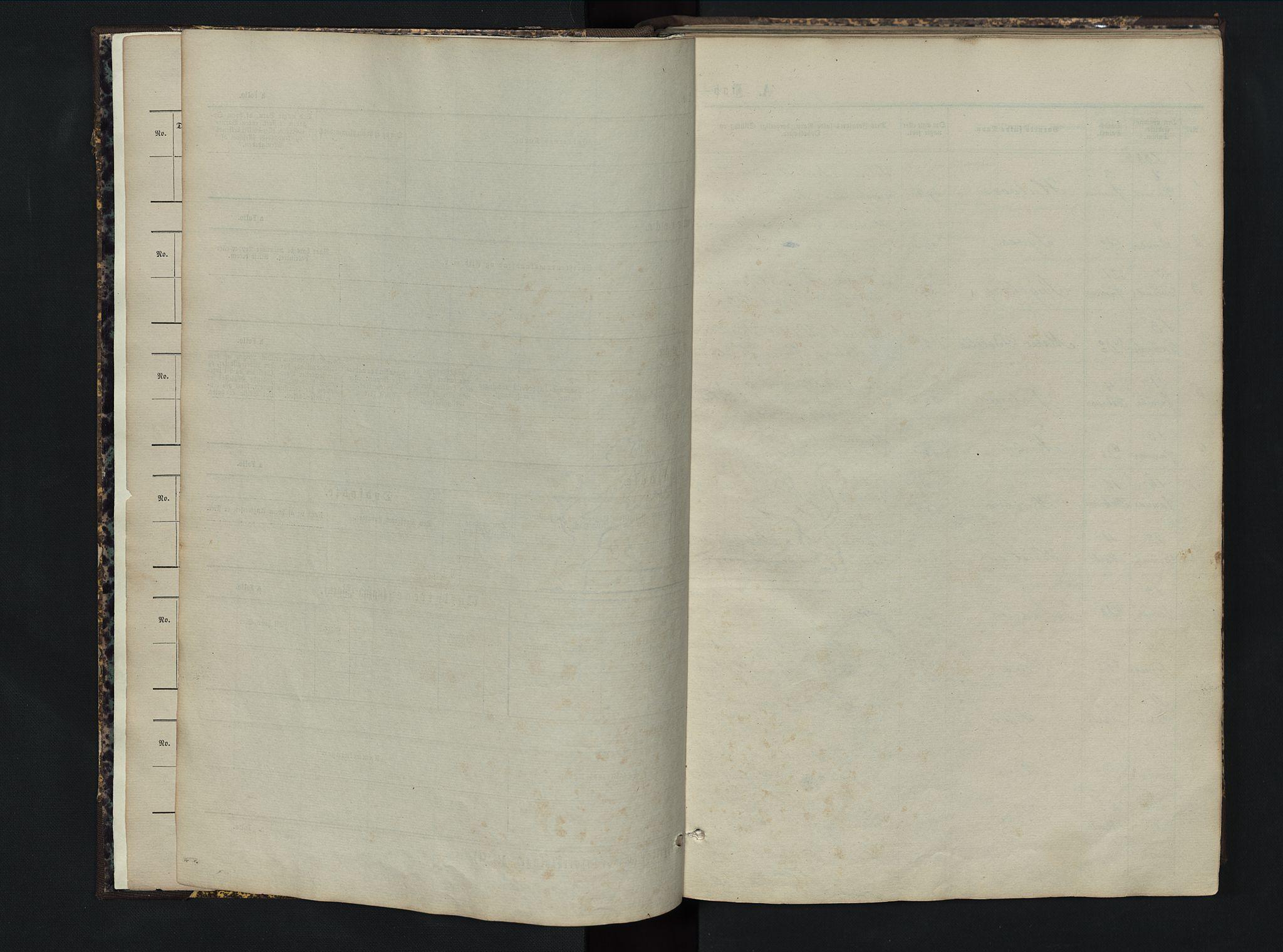 SAH, Sør-Aurdal prestekontor, Klokkerbok nr. 5, 1866-1893