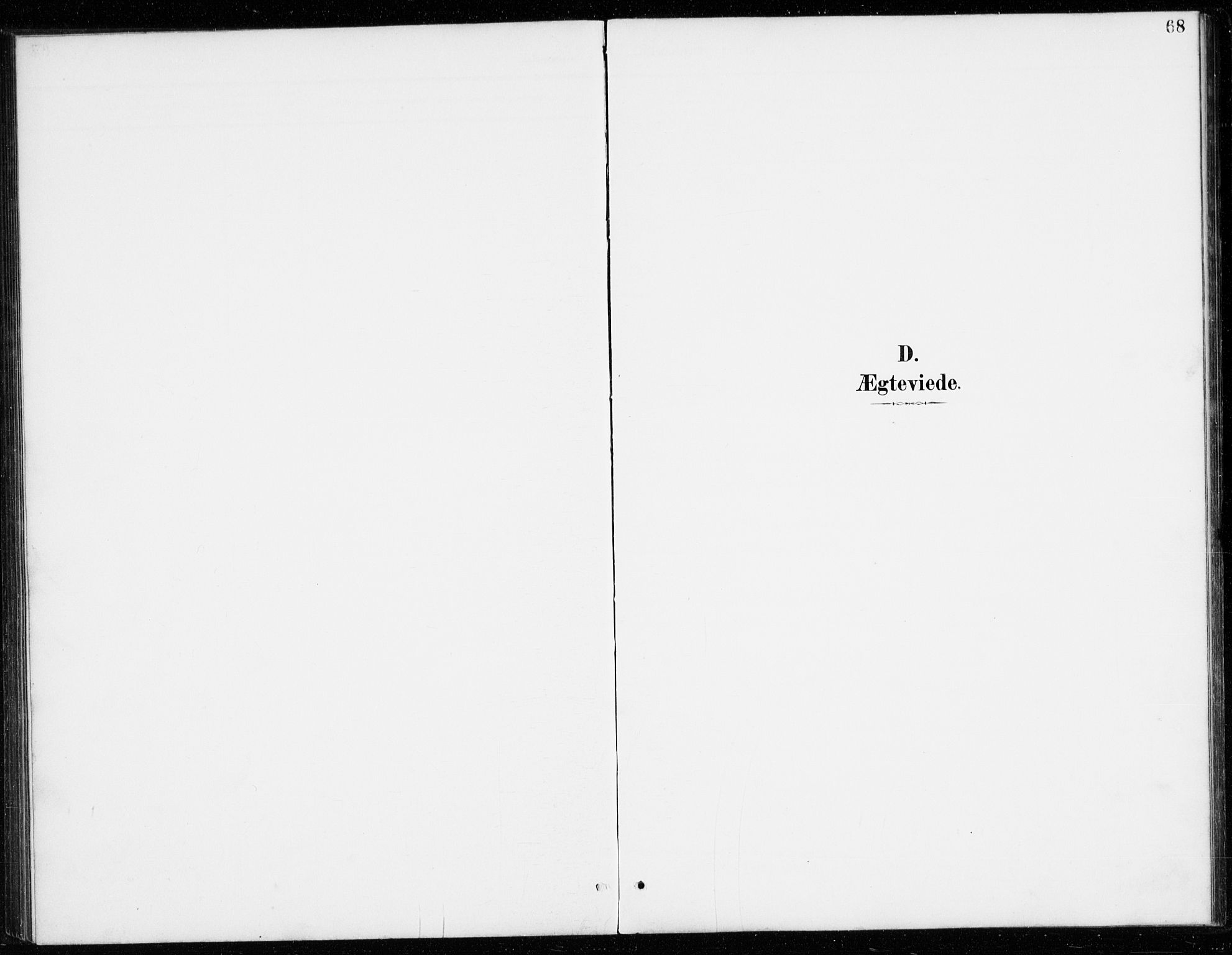 SAKO, Vinje kirkebøker, G/Gb/L0003: Klokkerbok nr. II 3, 1892-1943, s. 68