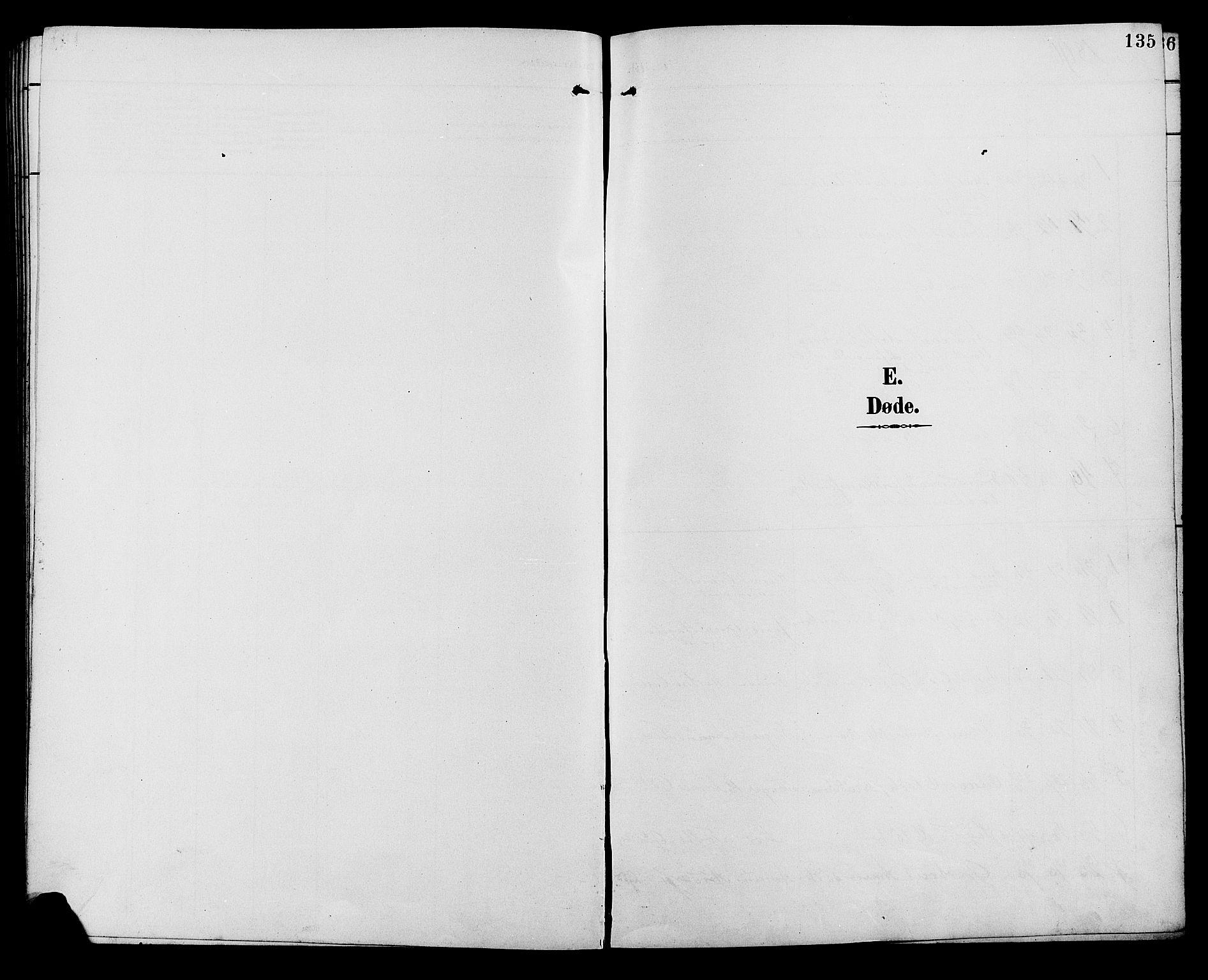SAH, Ringebu prestekontor, Klokkerbok nr. 7, 1890-1910, s. 135