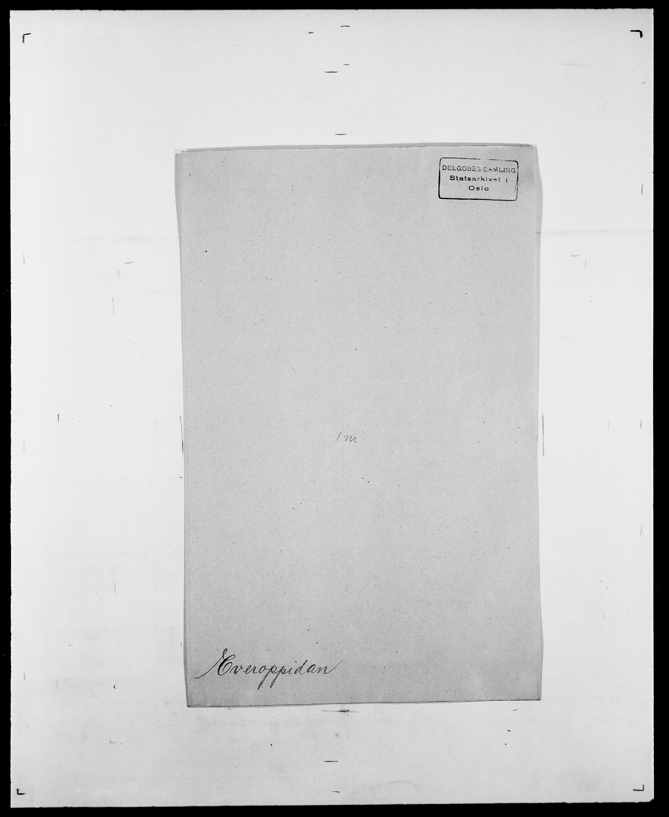 SAO, Delgobe, Charles Antoine - samling, D/Da/L0010: Dürendahl - Fagelund, s. 684